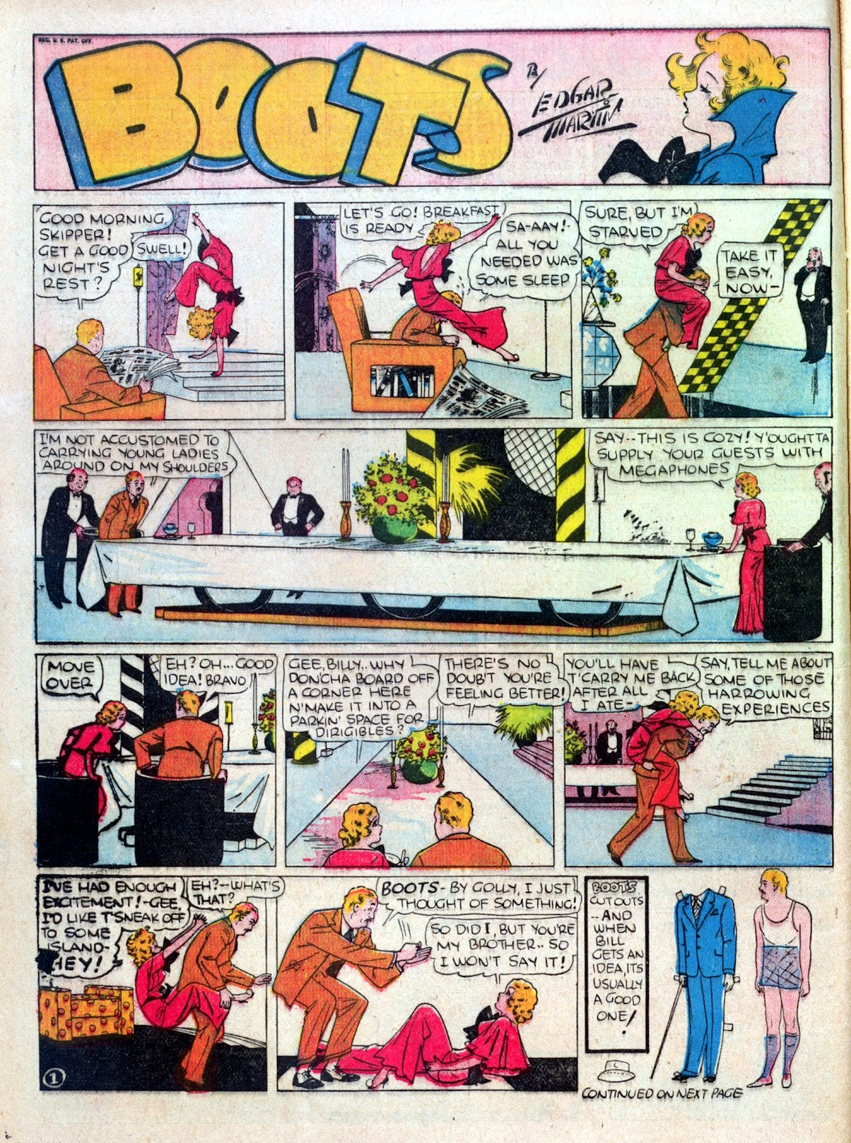 Read online Famous Funnies comic -  Issue #25 - 14