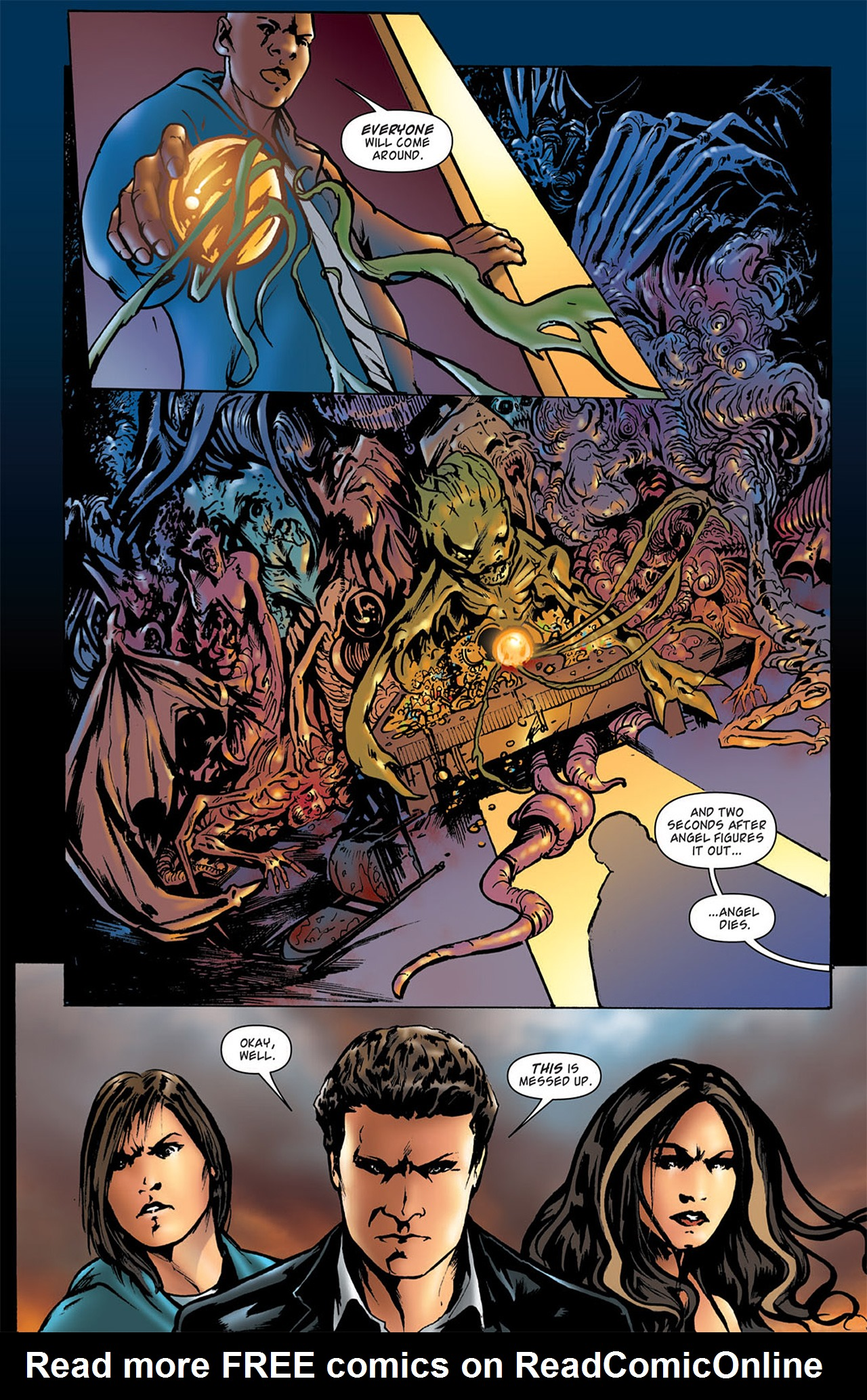 Read online Angel: After The Fall comic -  Issue #2 - 16