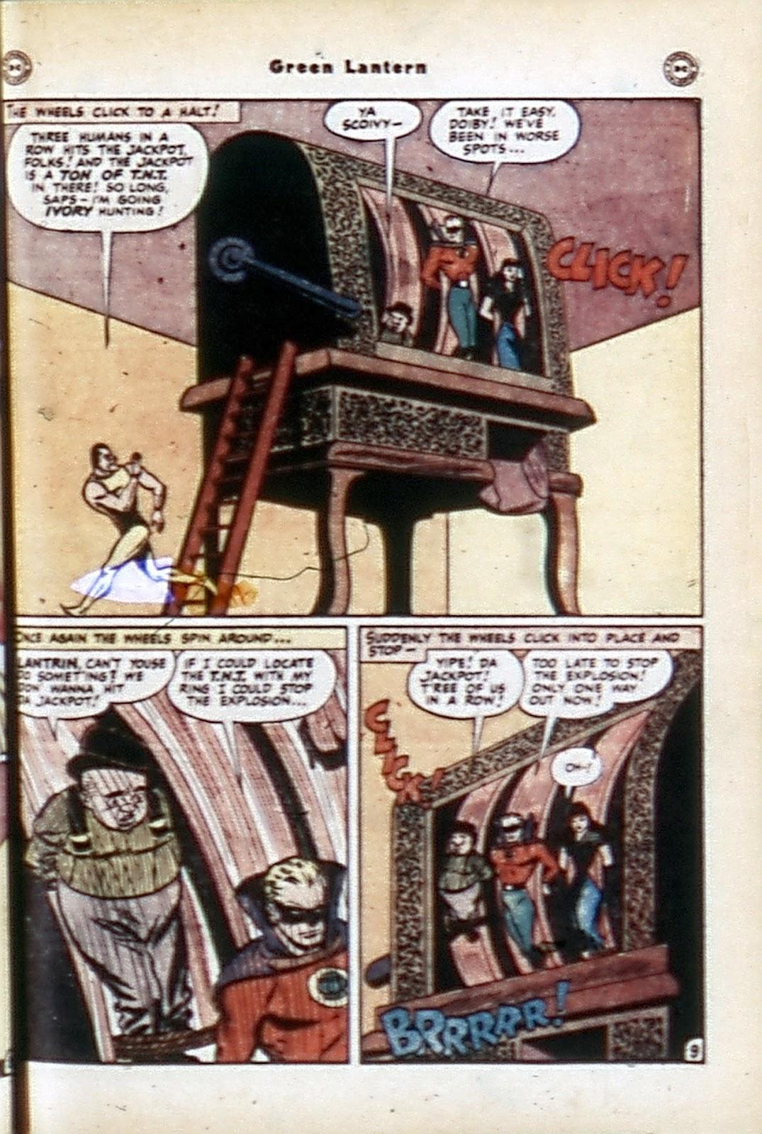 Green Lantern (1941) Issue #32 #32 - English 11