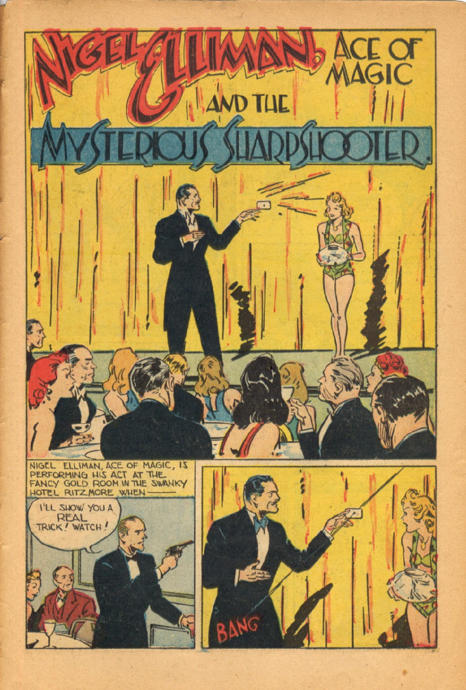 Read online Super-Magician Comics comic -  Issue #50 - 43