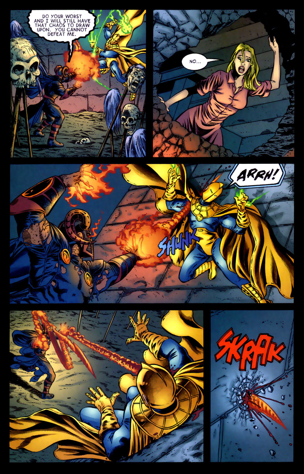 Read online Doctor Fate (2003) comic -  Issue #5 - 16