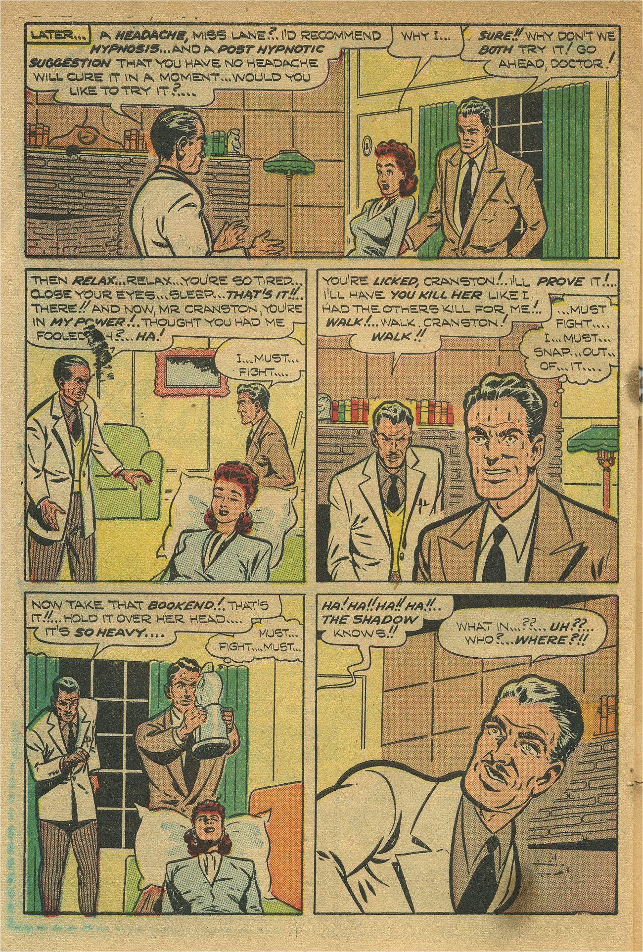 Read online Shadow Comics comic -  Issue #93 - 49