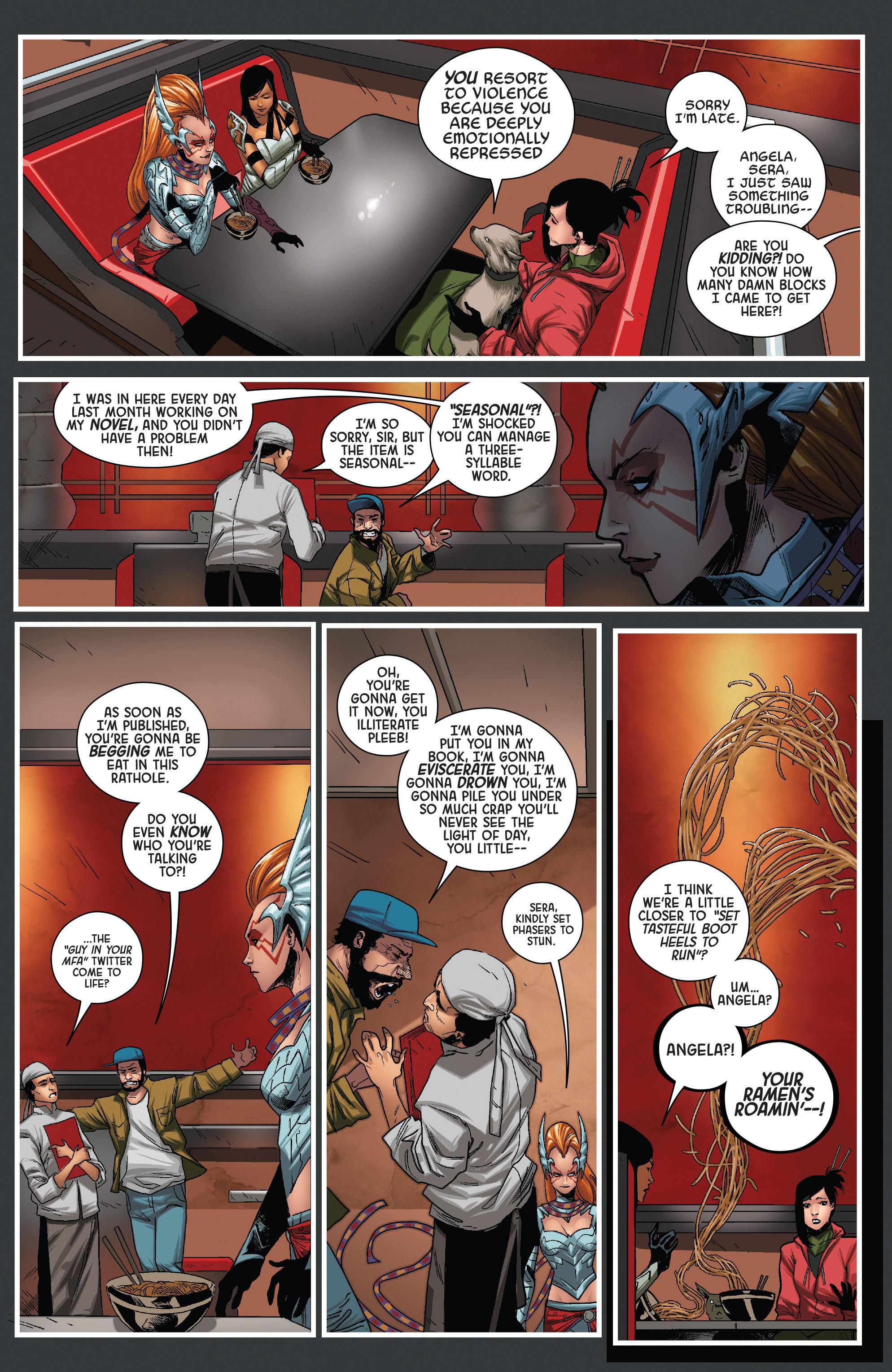Read online Angela: Queen Of Hel comic -  Issue #6 - 8