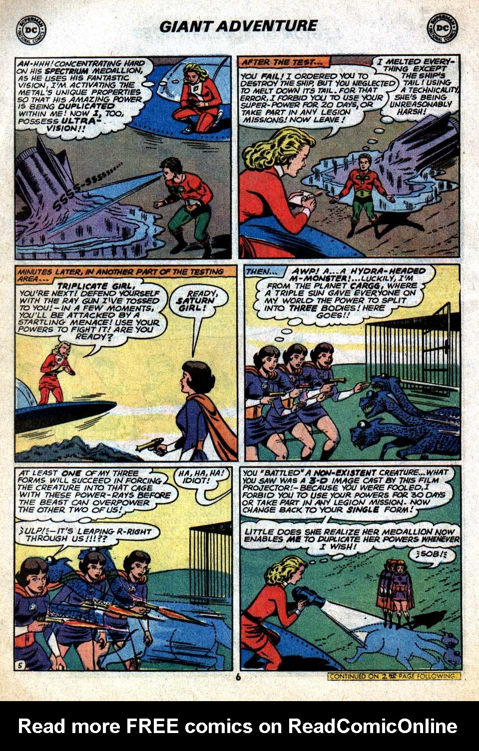 Read online Adventure Comics (1938) comic -  Issue #403 - 8