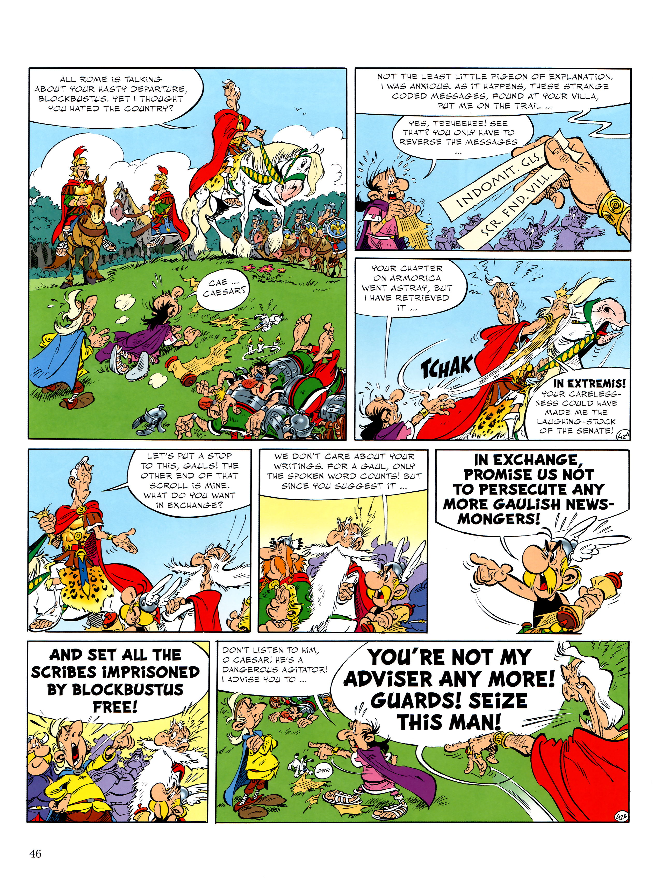 Read online Asterix comic -  Issue #36 - 47