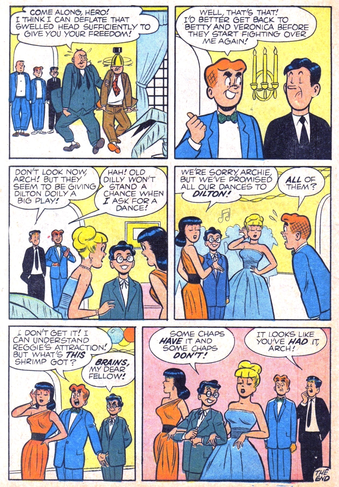 Read online Archie (1960) comic -  Issue #120 - 20