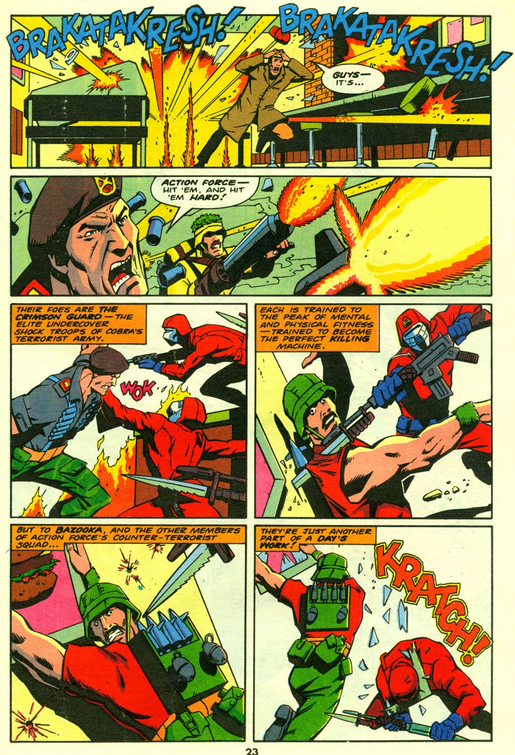 G.I. Joe European Missions issue 14 - Page 23
