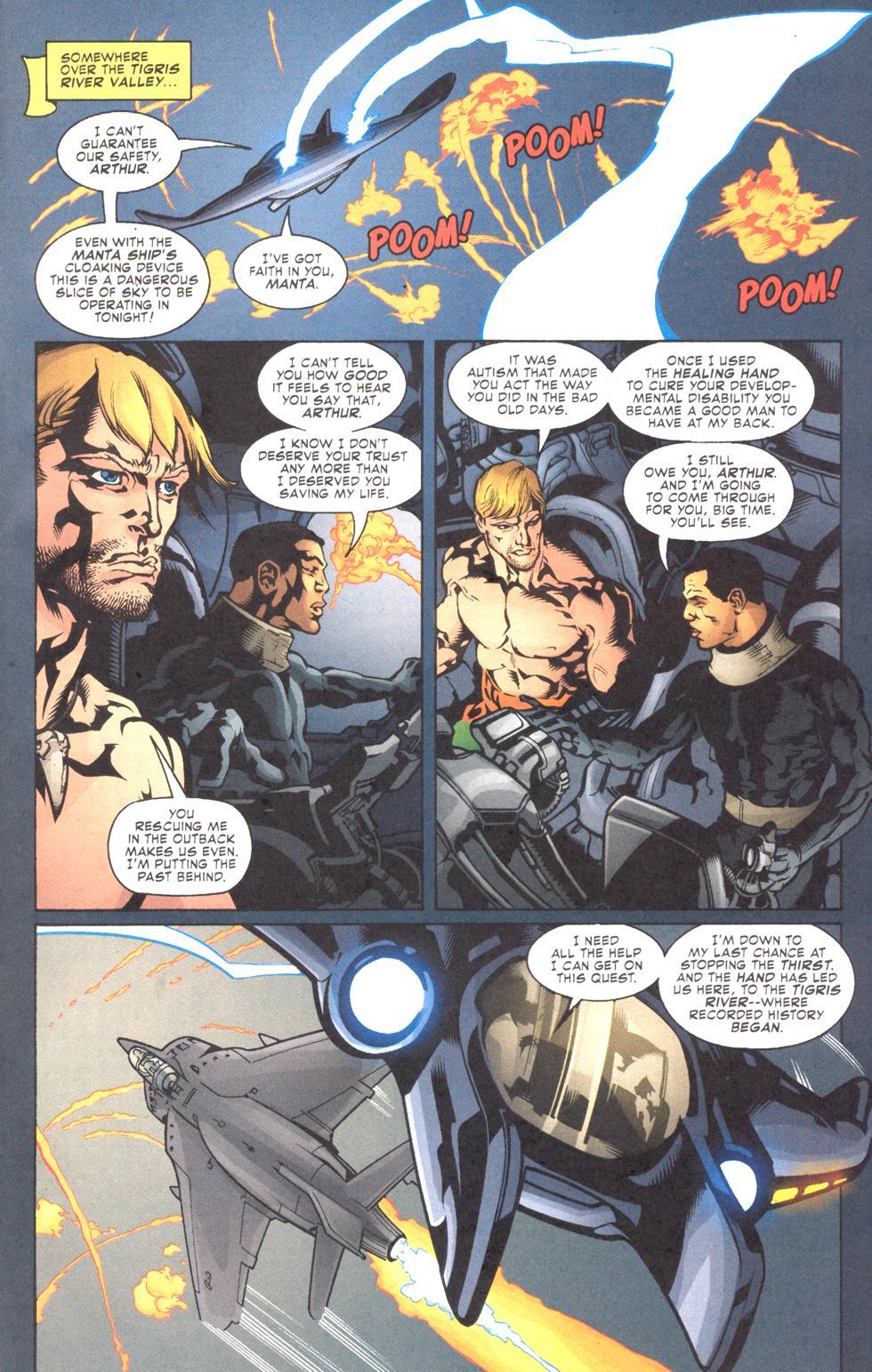 Read online Aquaman (2003) comic -  Issue #11 - 4