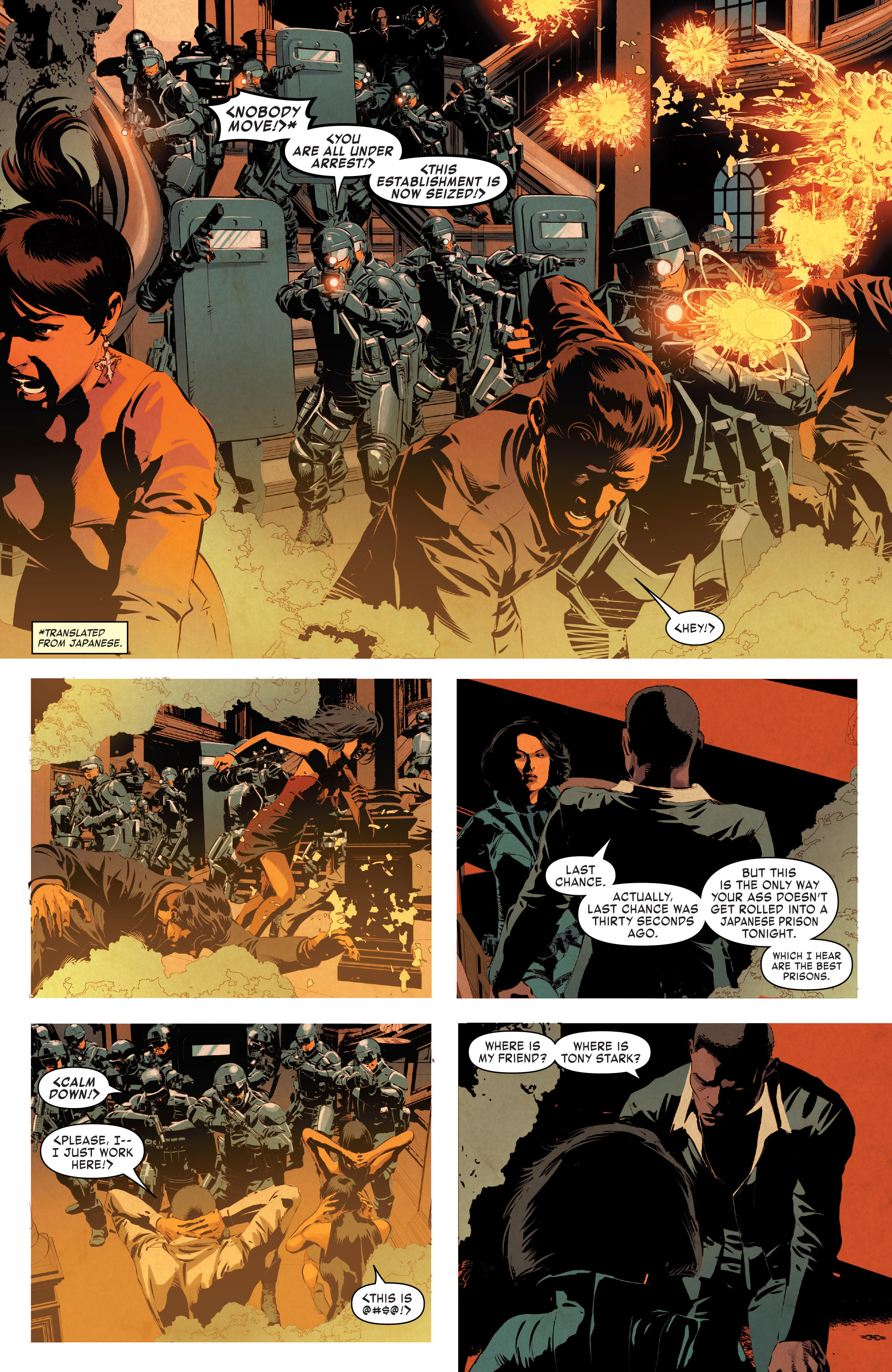 Read online True Believers: Invincible Iron Man-The War Machines comic -  Issue # Full - 77