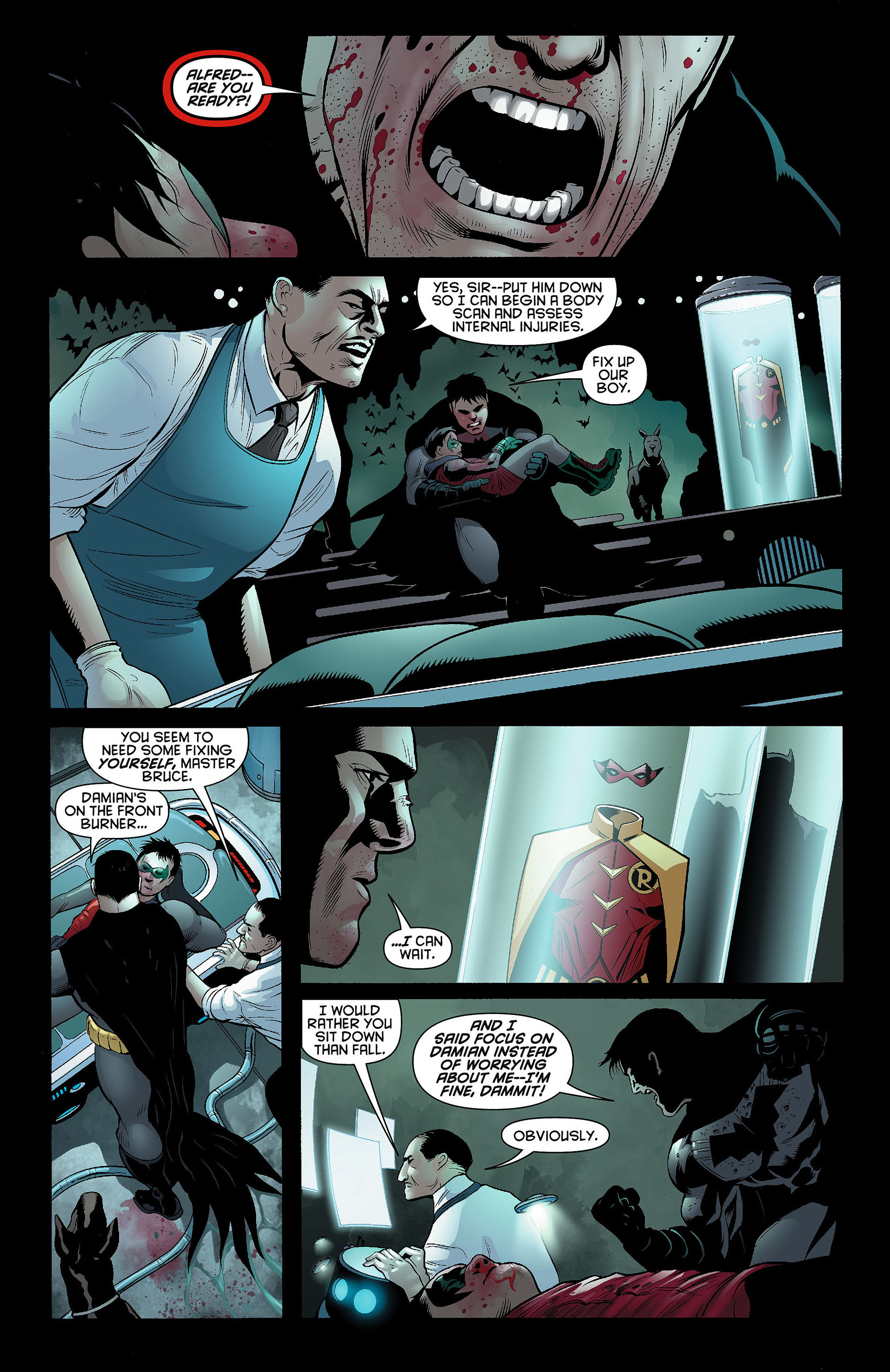 Read online Batman and Robin (2011) comic -  Issue #8 - 8