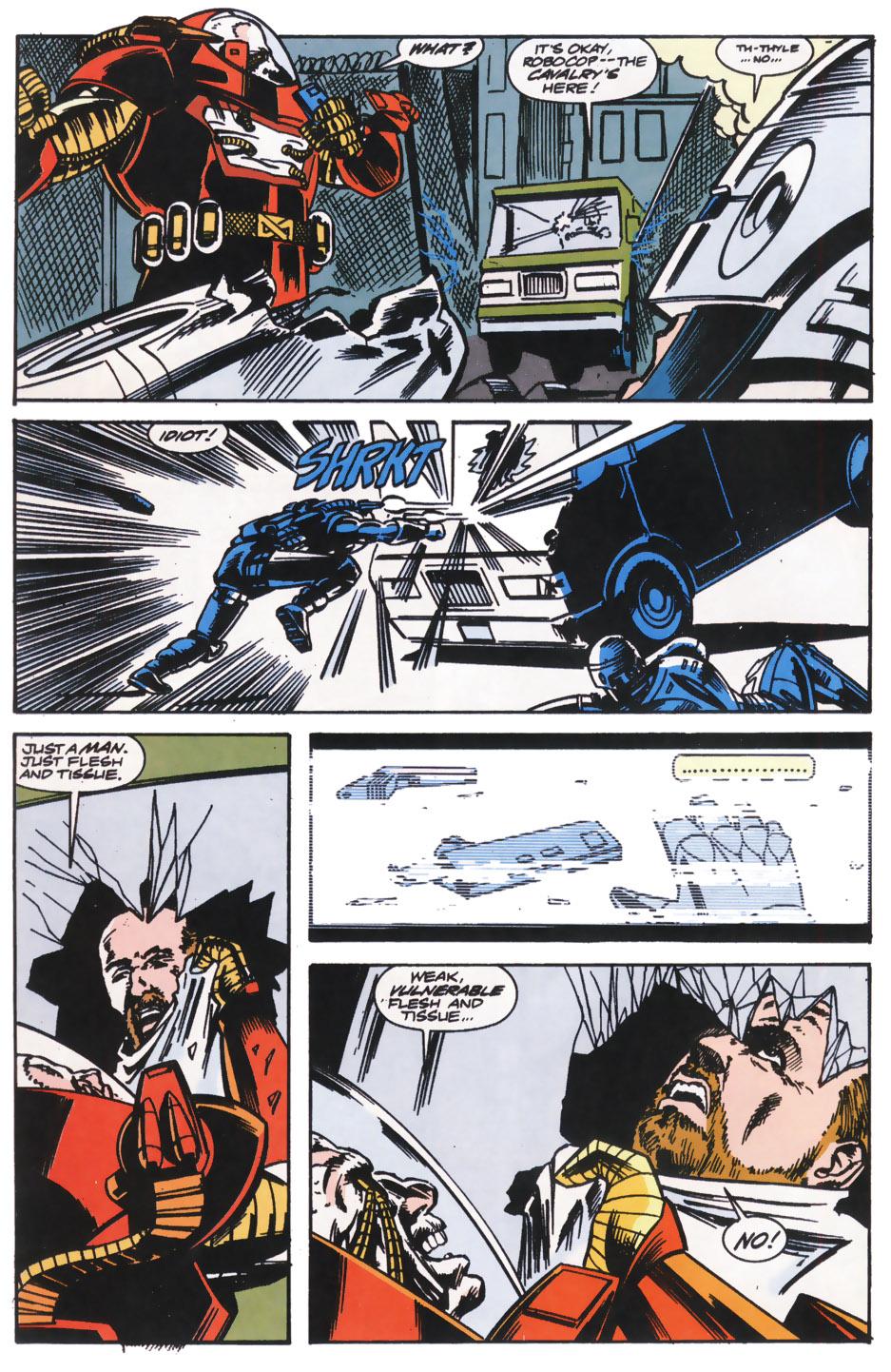Read online Robocop (1990) comic -  Issue #14 - 18