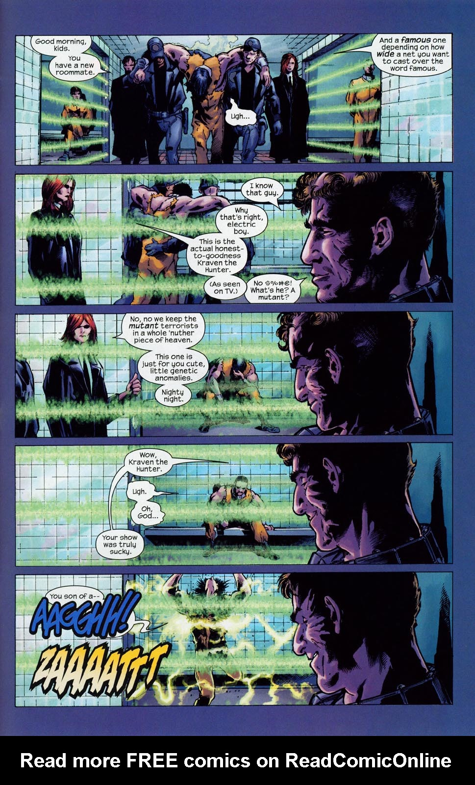 Read online Ultimate Six comic -  Issue #1 - 24