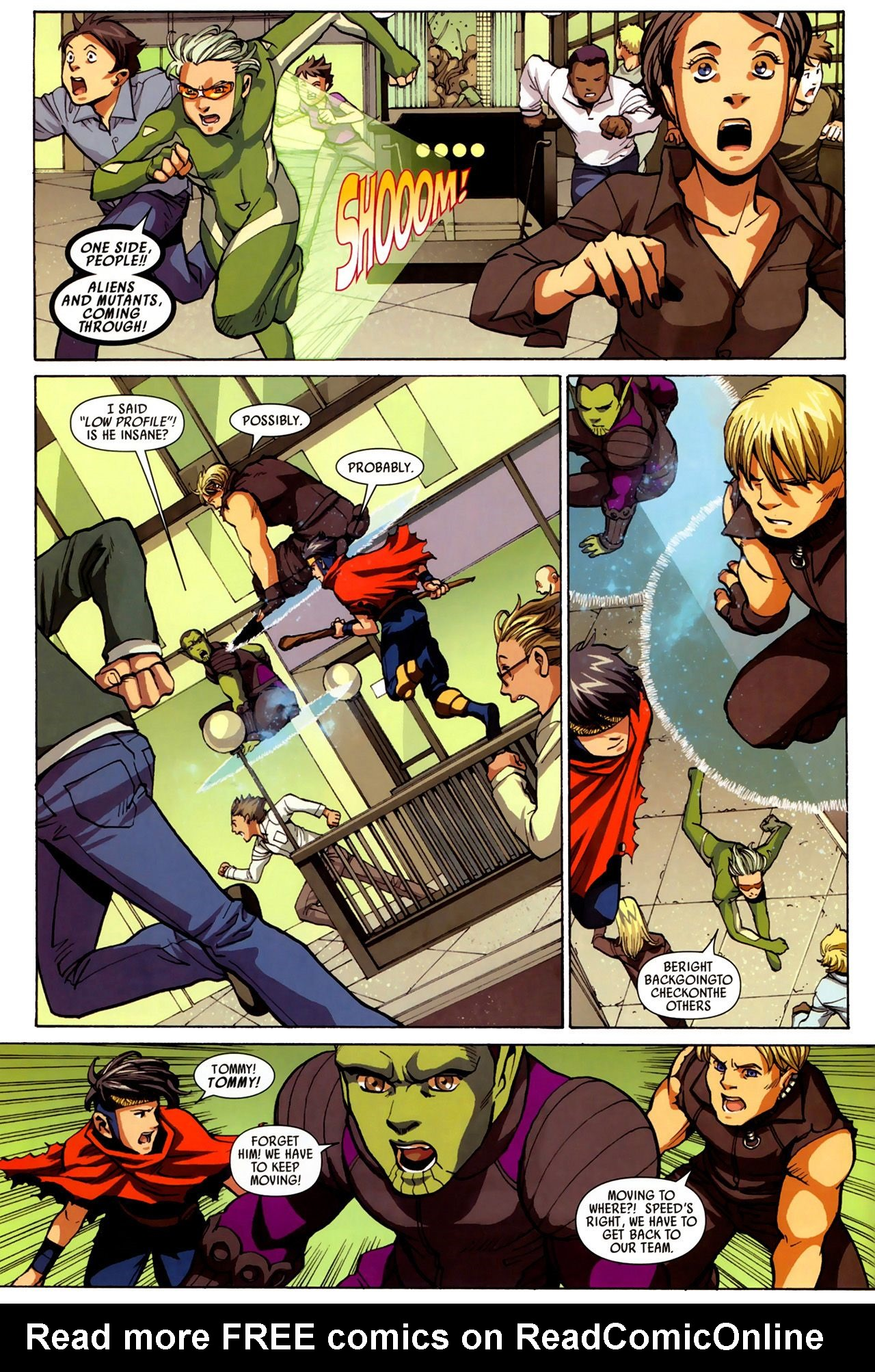 Read online Secret Invasion: Runaways/Young Avengers comic -  Issue #3 - 6