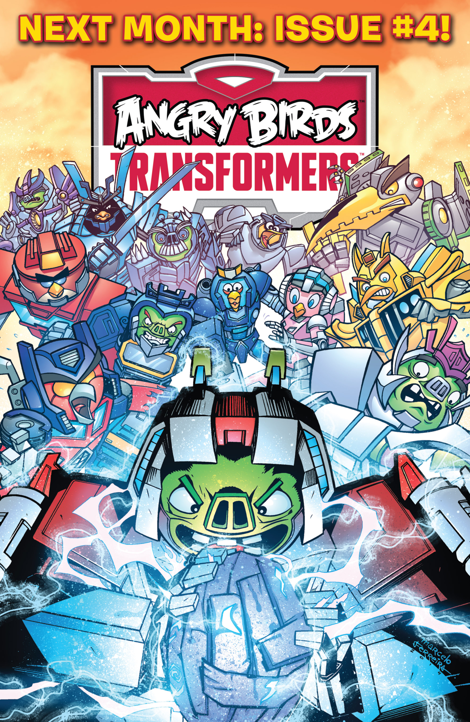 Read online Angry Birds Transformers comic -  Issue #3 - 22