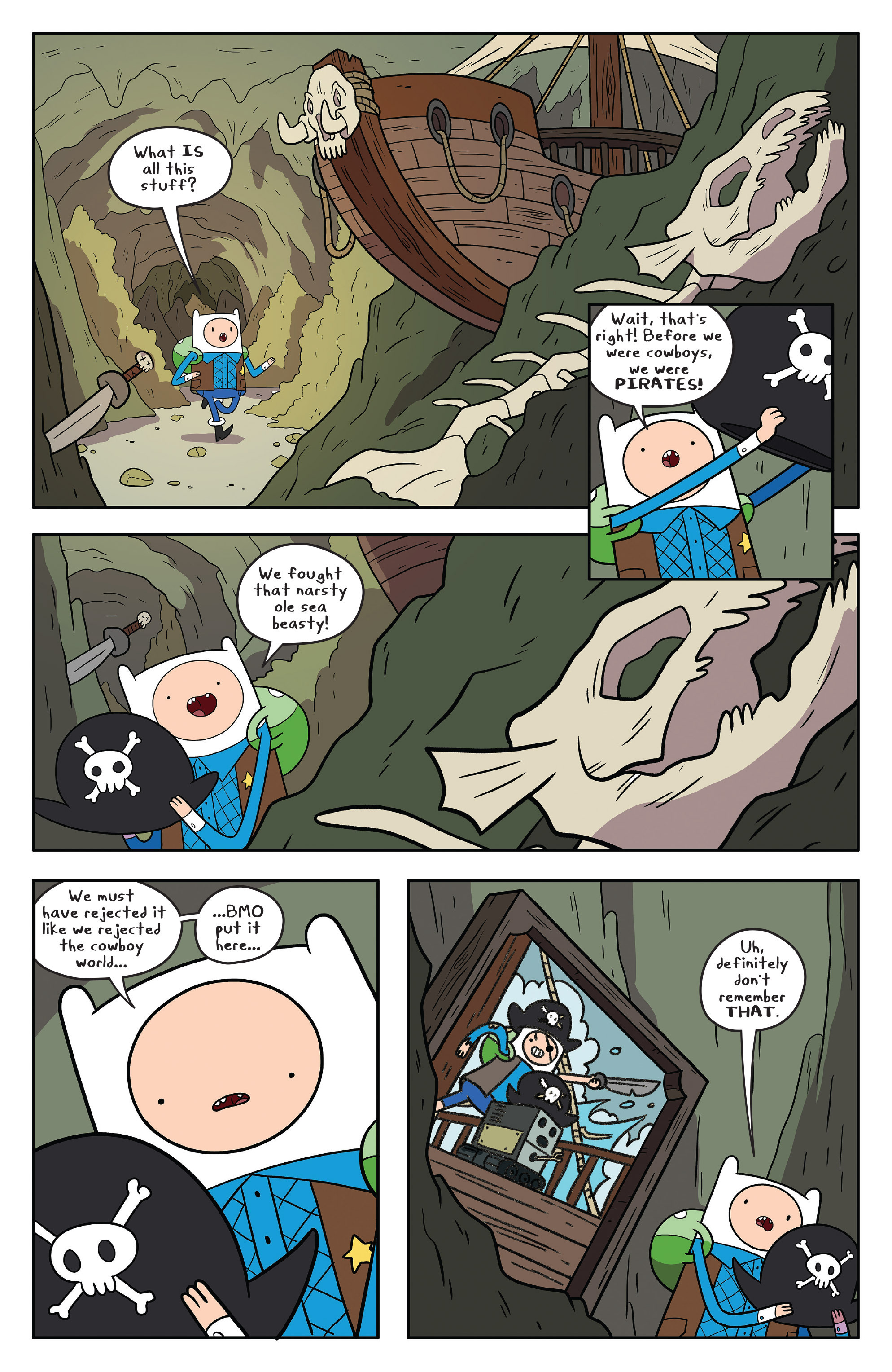 Read online Adventure Time comic -  Issue #55 - 17