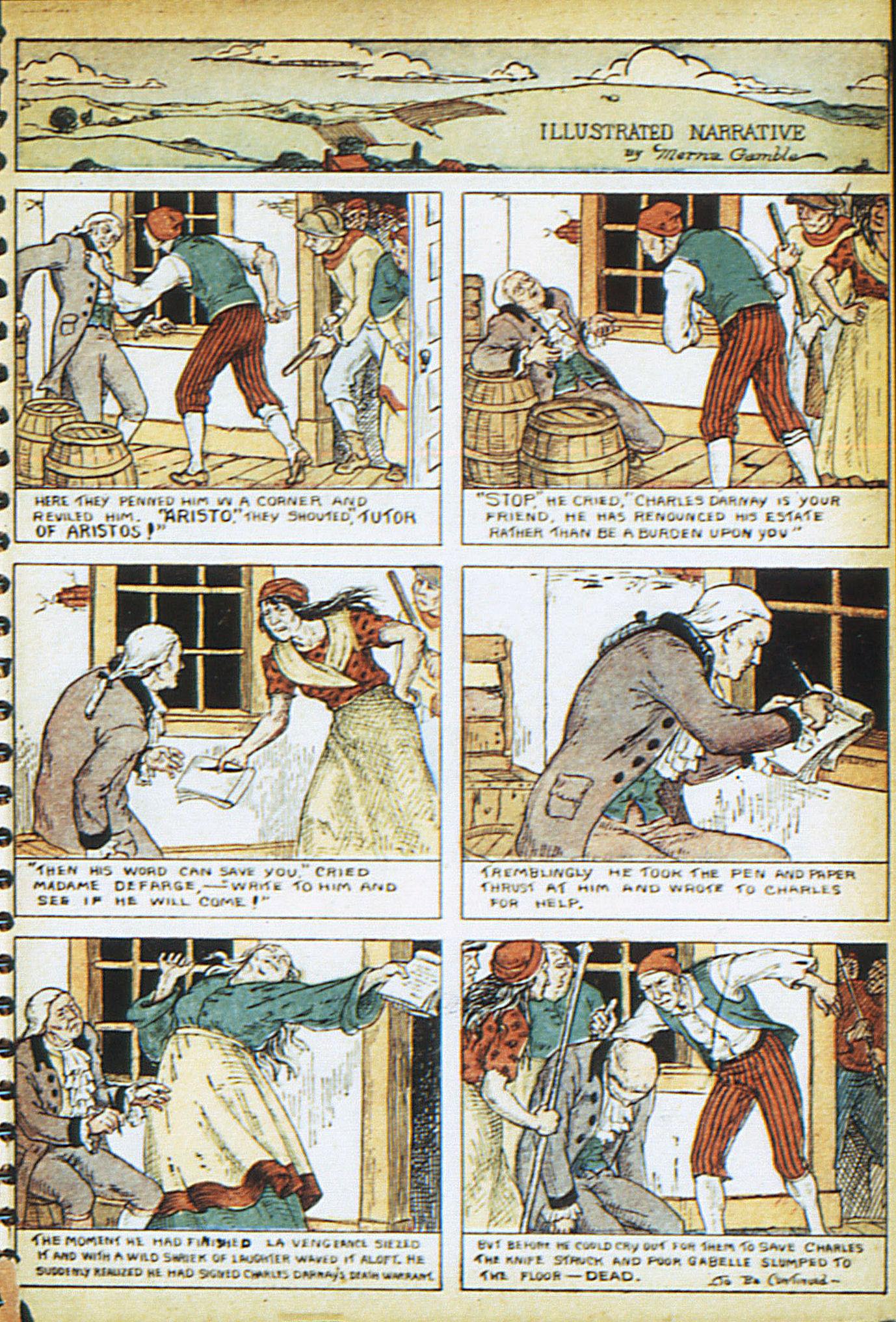 Read online Adventure Comics (1938) comic -  Issue #13 - 15