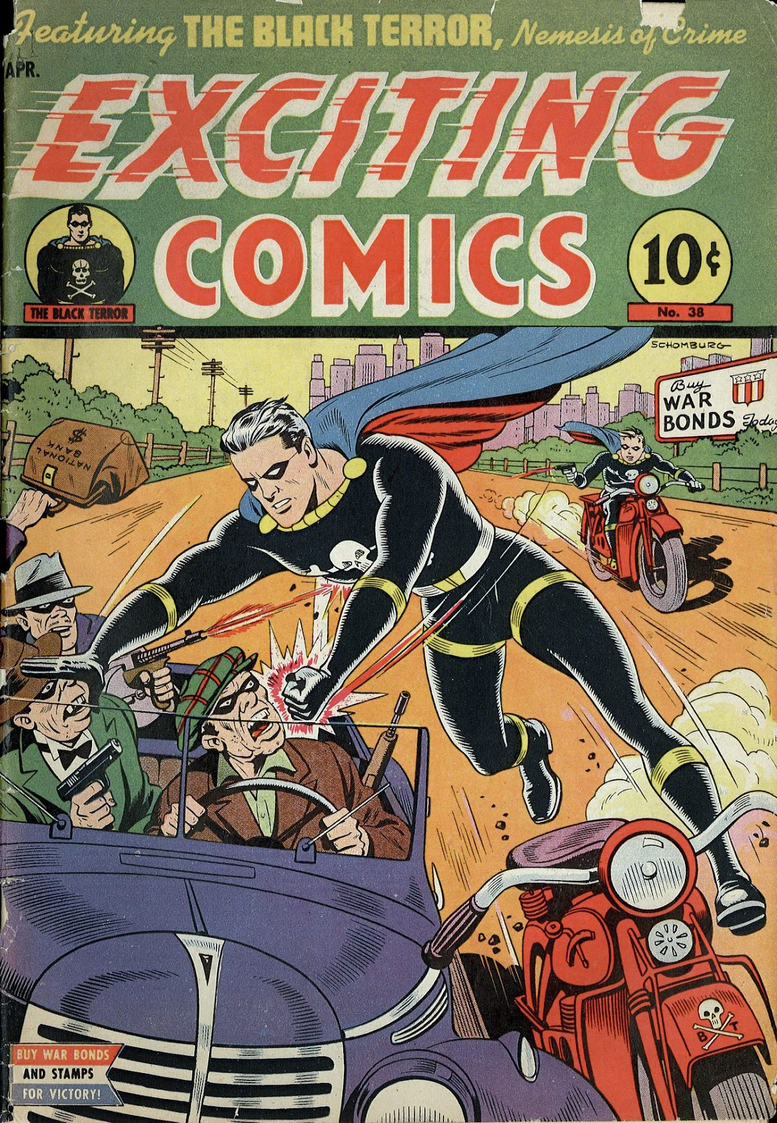Exciting Comics (1940) issue 38 - Page 1
