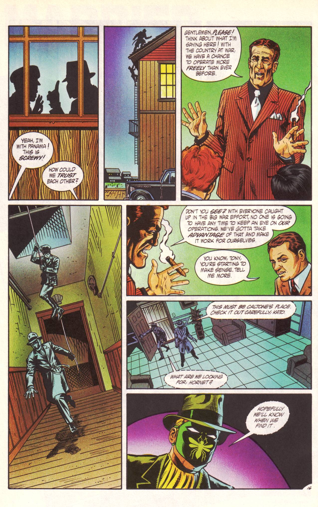 Read online Sting of The Green Hornet comic -  Issue #1 - 17