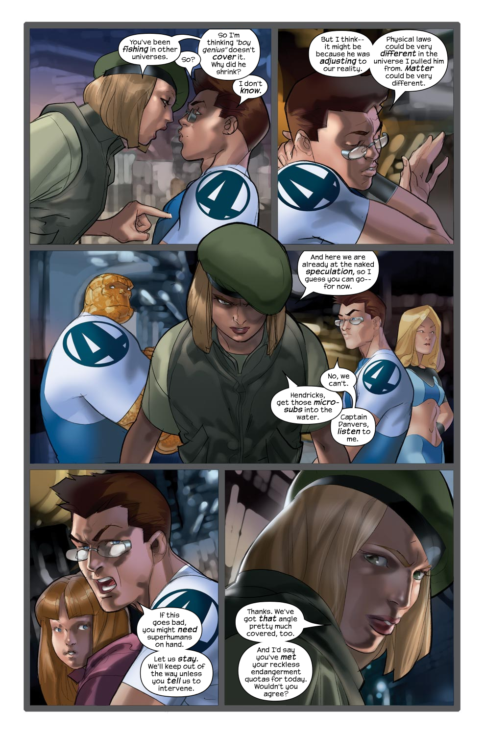 Read online Ultimate Fantastic Four (2004) comic -  Issue #43 - 16