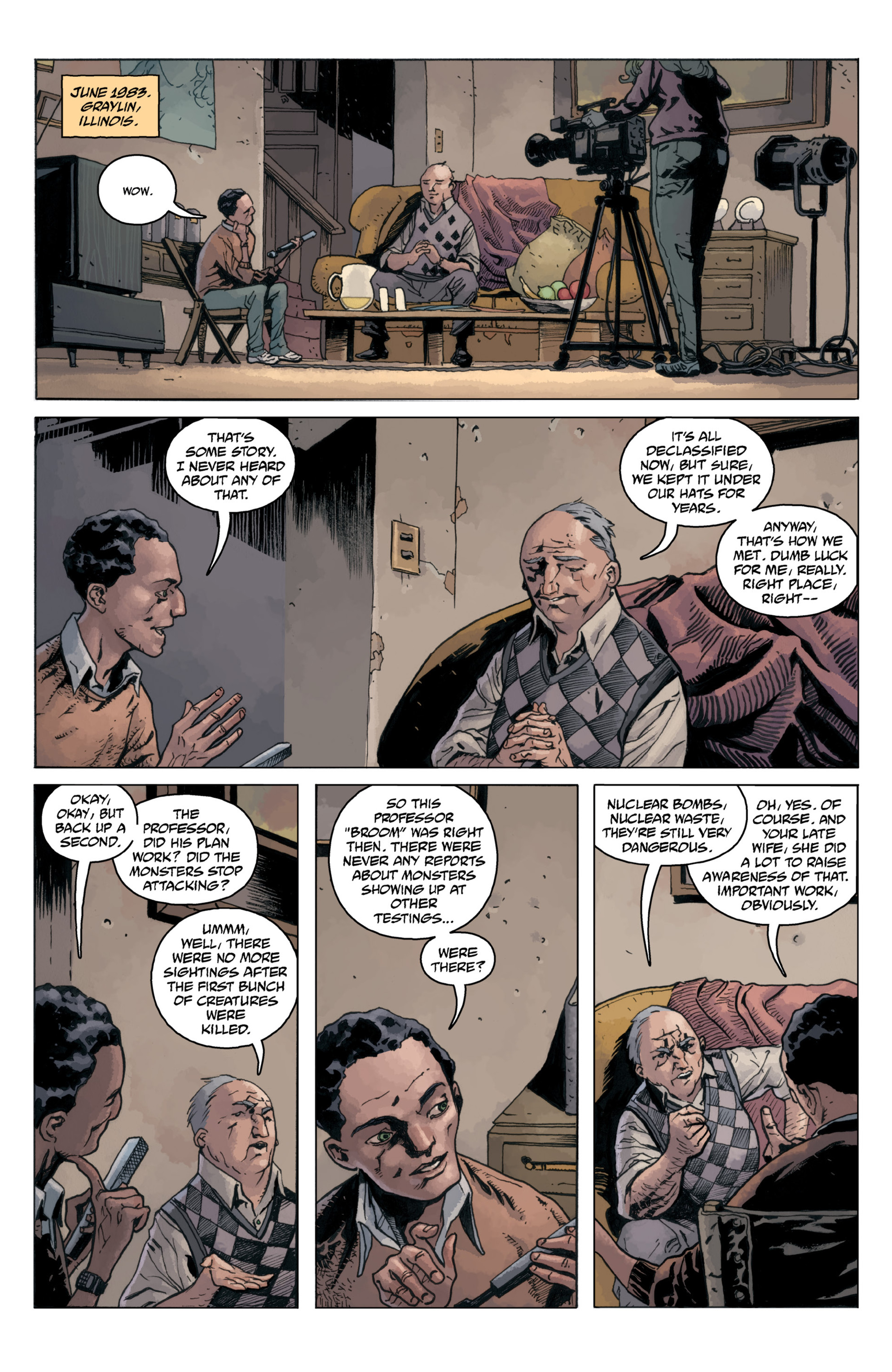 Read online B.P.R.D.: 1948 comic -  Issue # TPB - 120