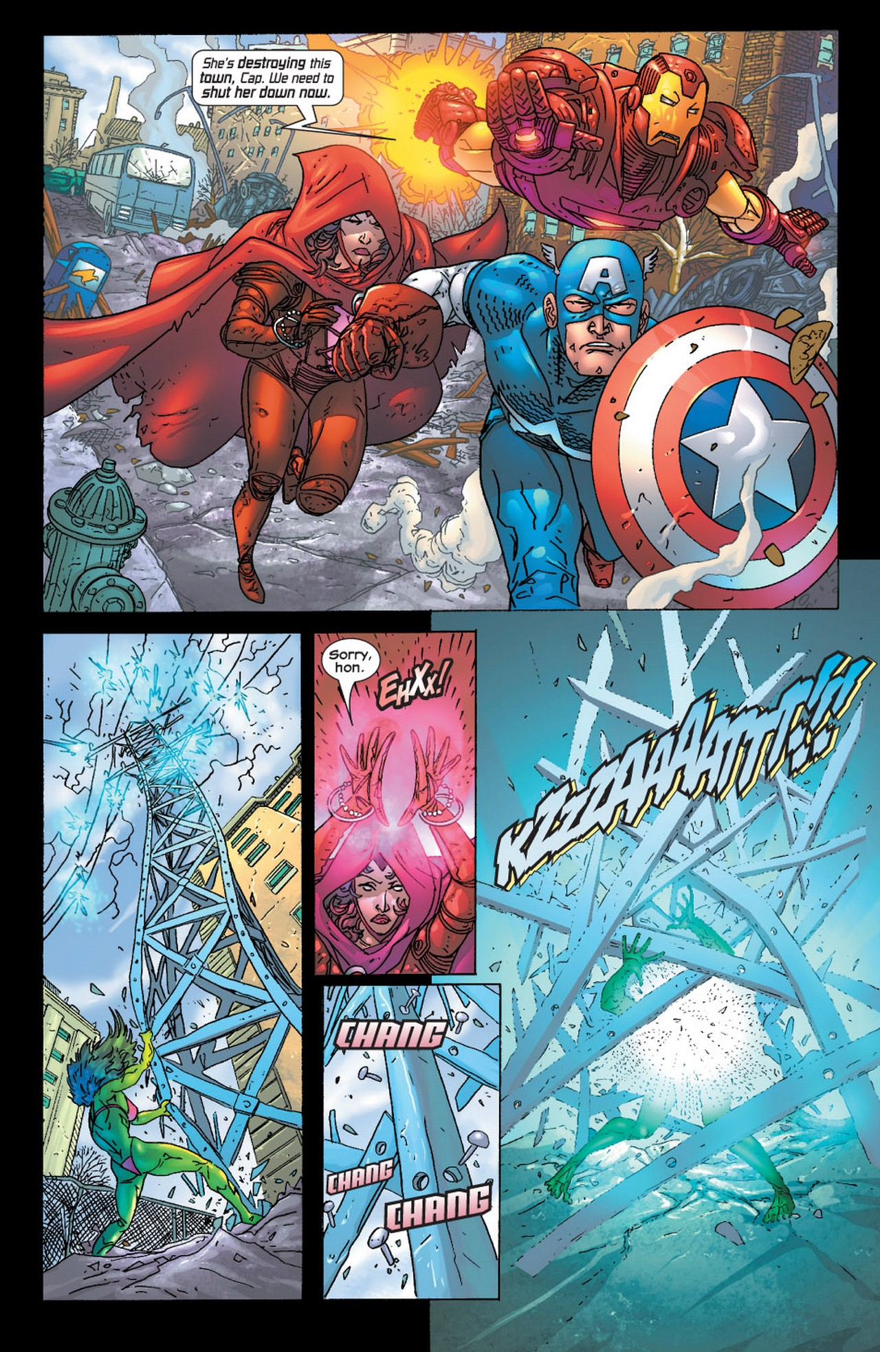 Read online Avengers (1998) comic -  Issue #73 - 18