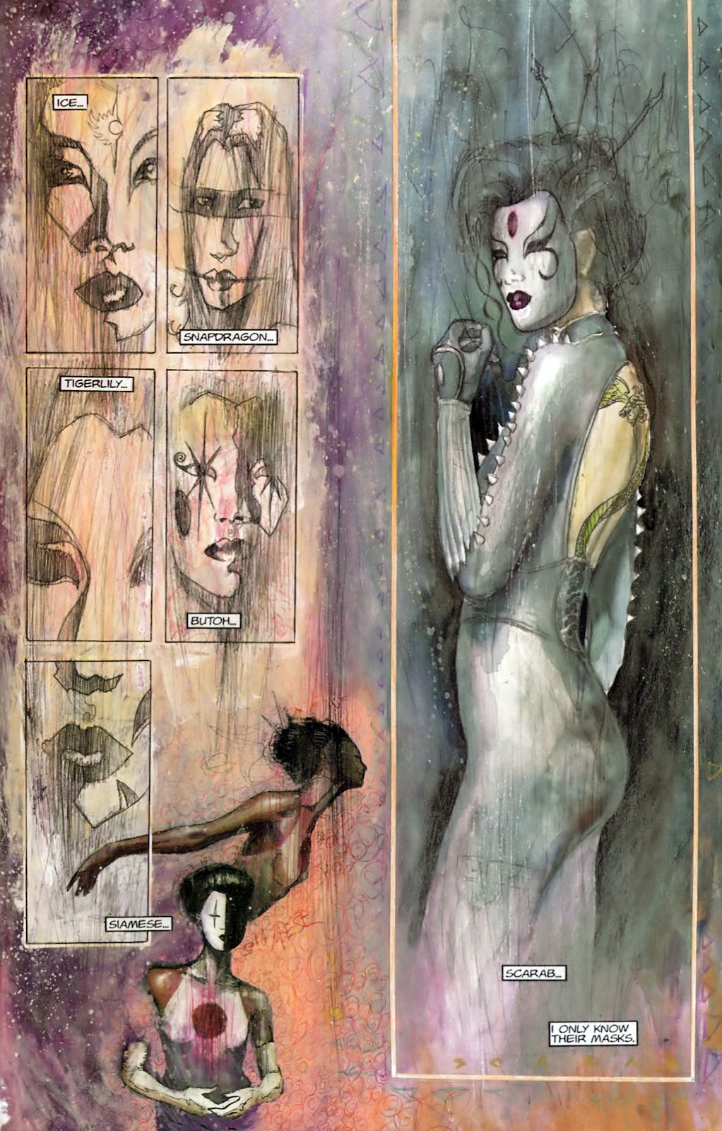 Read online Kabuki: Reflections comic -  Issue #1 - 5
