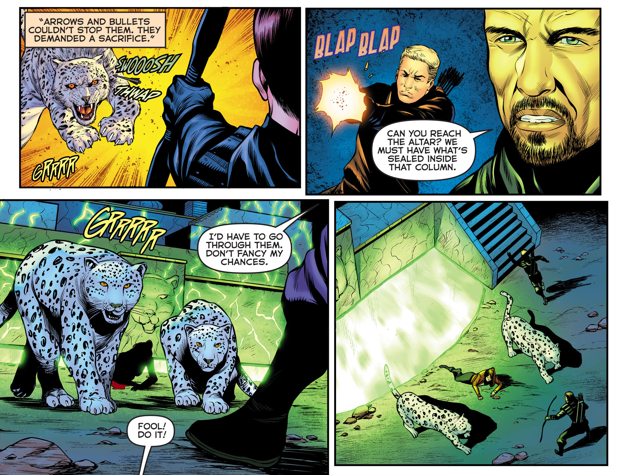 Read online Arrow: The Dark Archer comic -  Issue #9 - 18