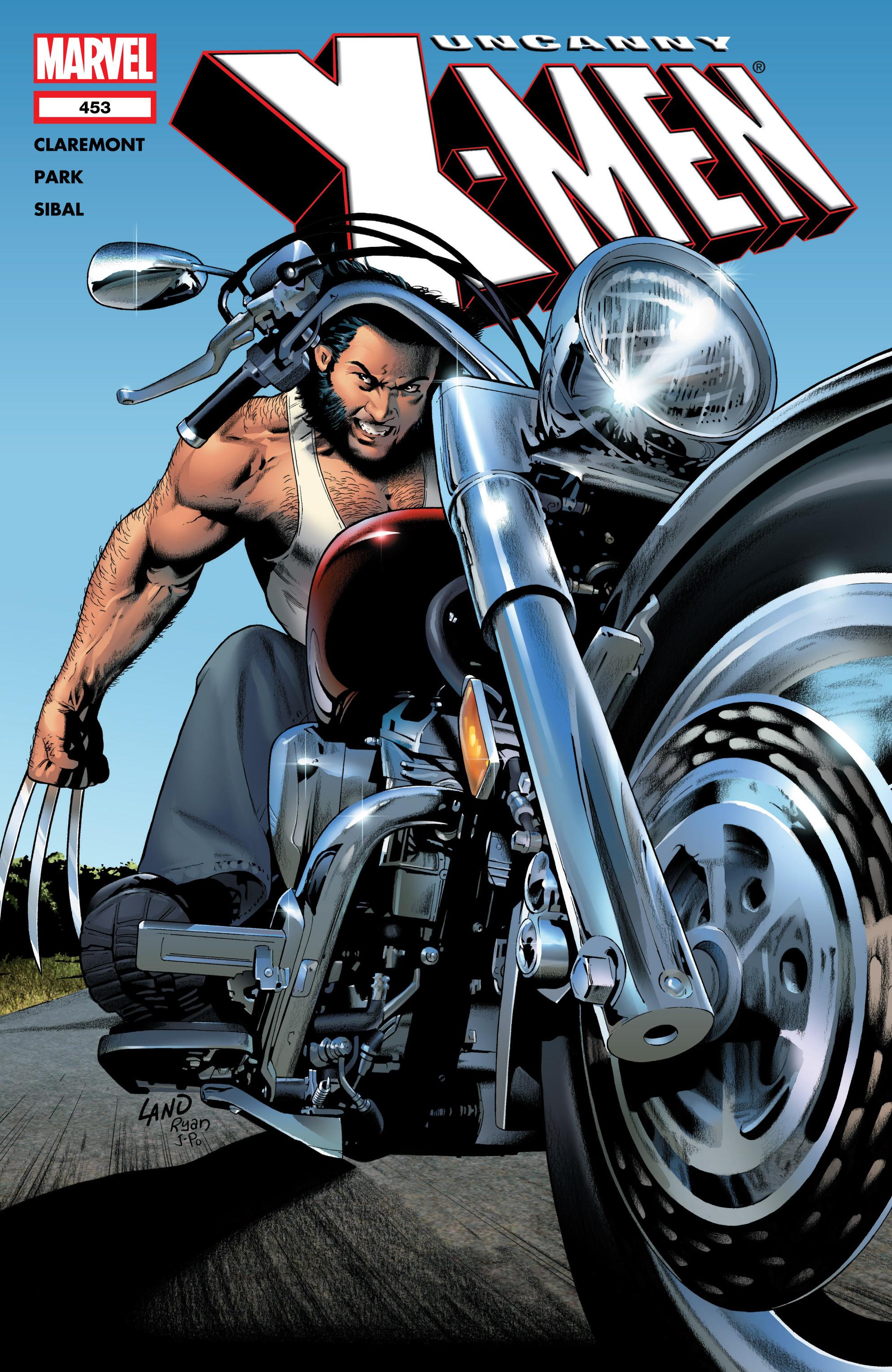 Read online Uncanny X-Men (1963) comic -  Issue #453 - 1