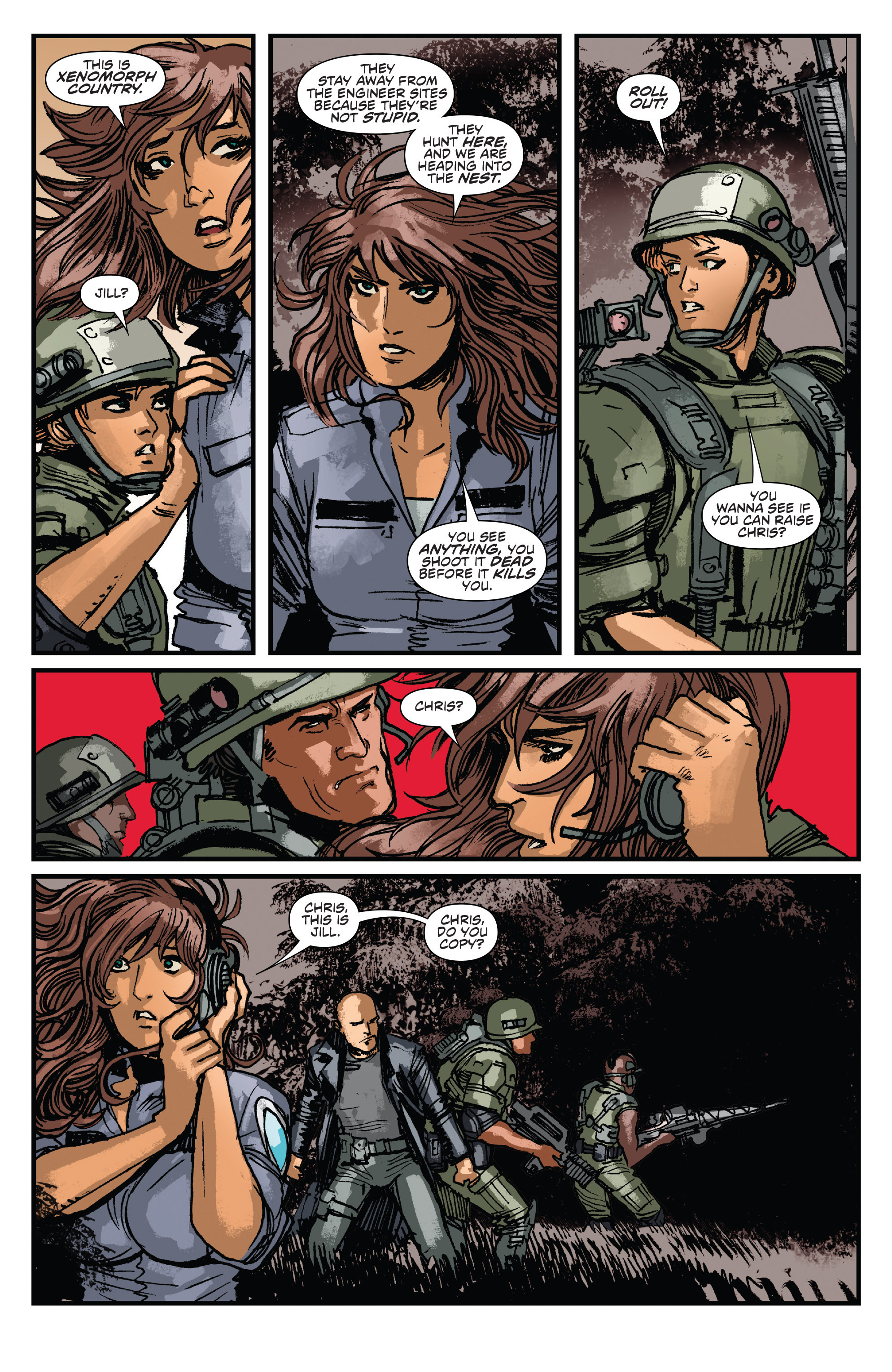 Read online Aliens: Life And Death comic -  Issue #2 - 21