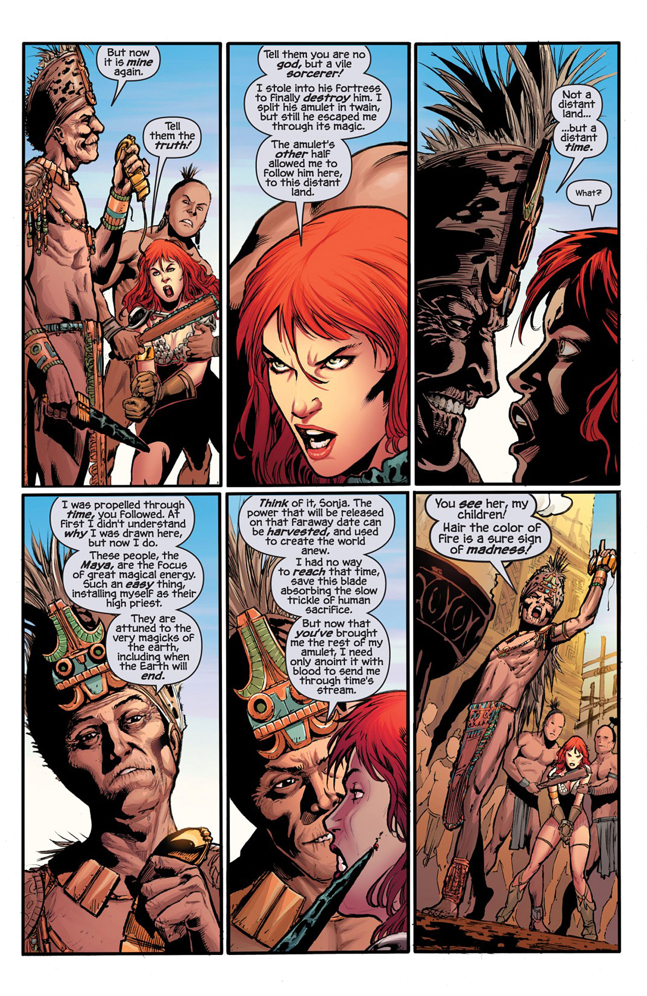 Read online Prophecy comic -  Issue #1 - 12