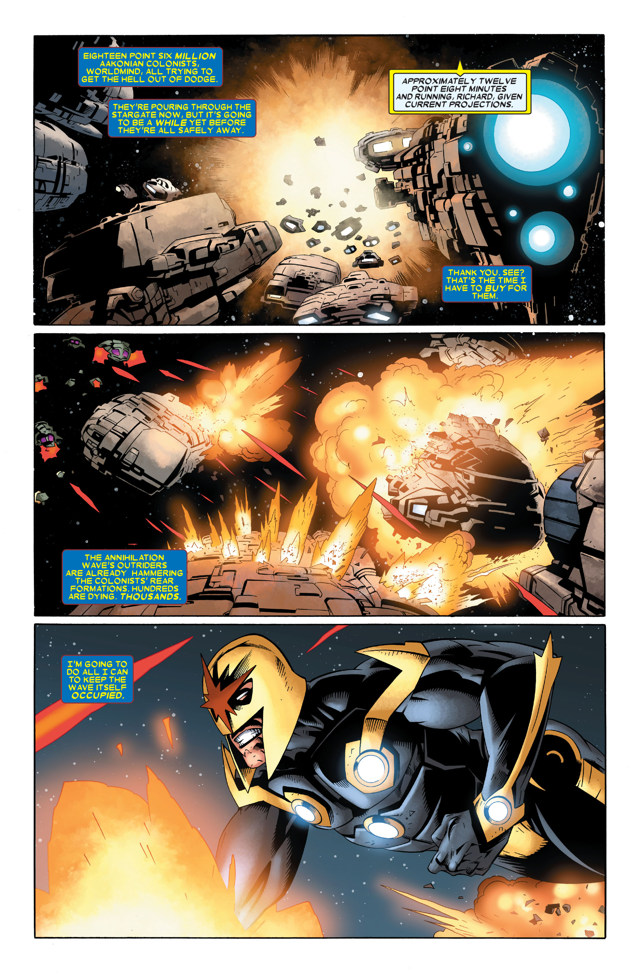 Read online Annihilation: Nova comic -  Issue #4 - 5