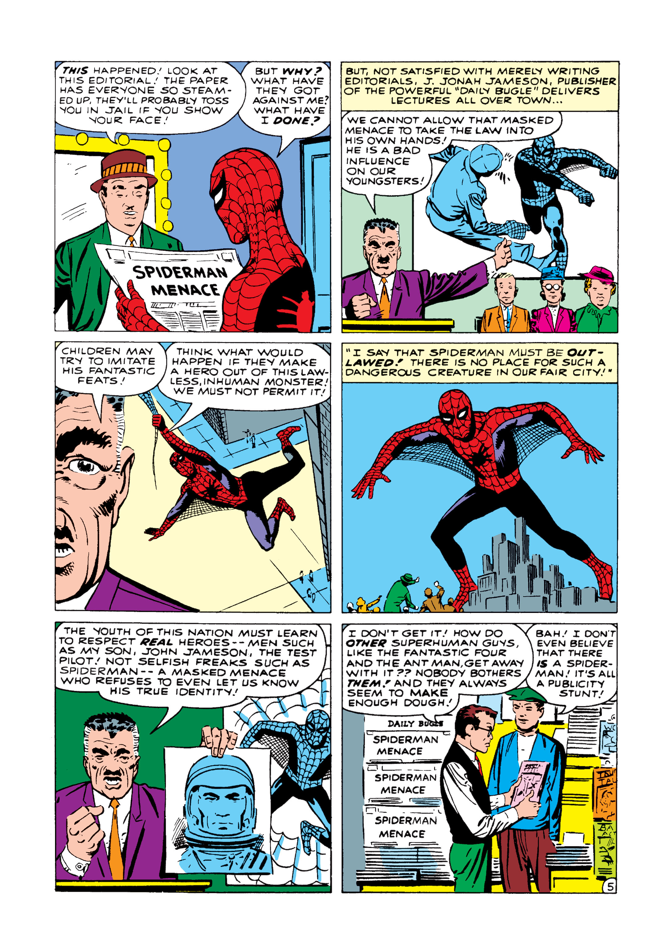 The Amazing Spider-Man (1963) 1 Page 5