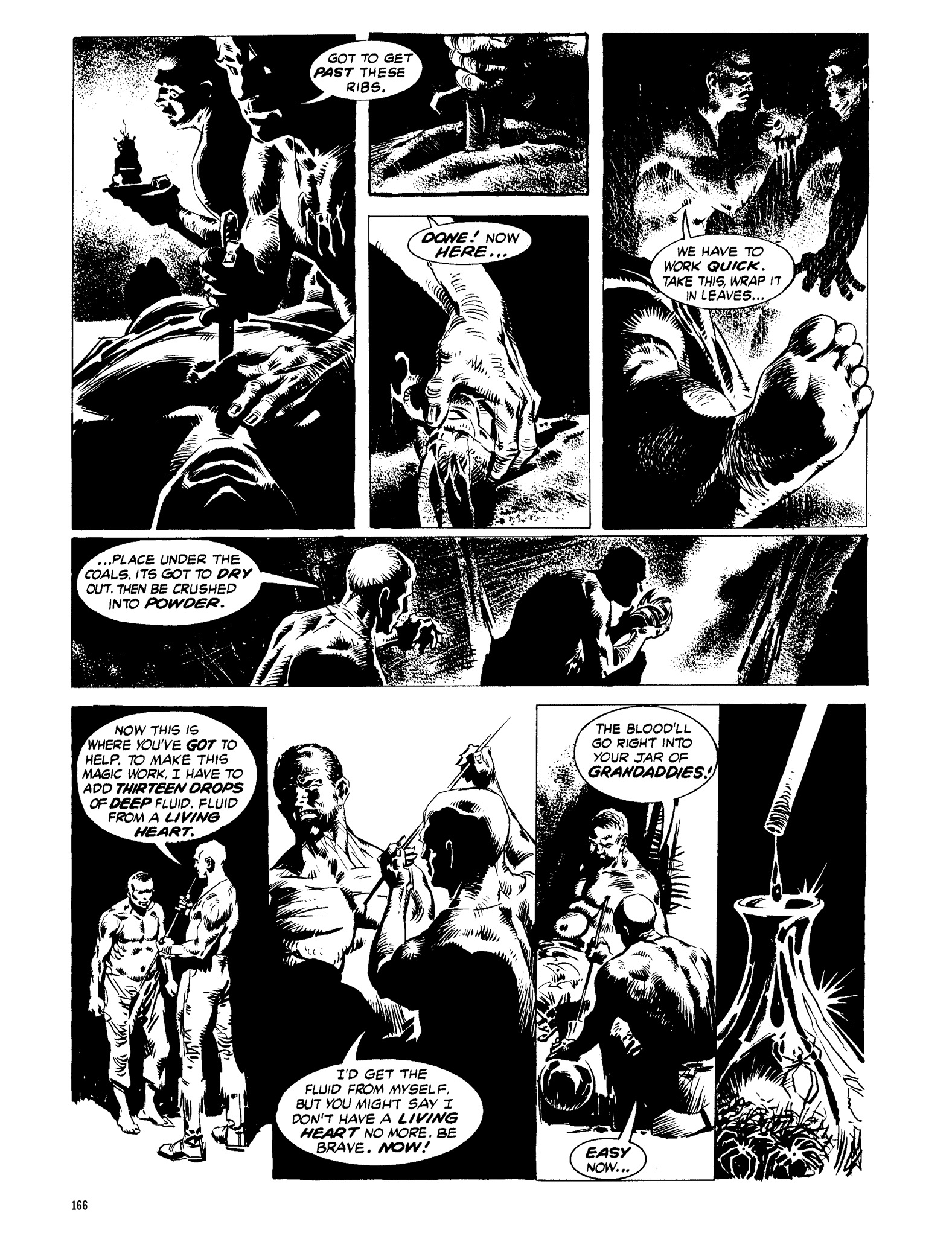 Read online Eerie Archives comic -  Issue # TPB 13 - 167