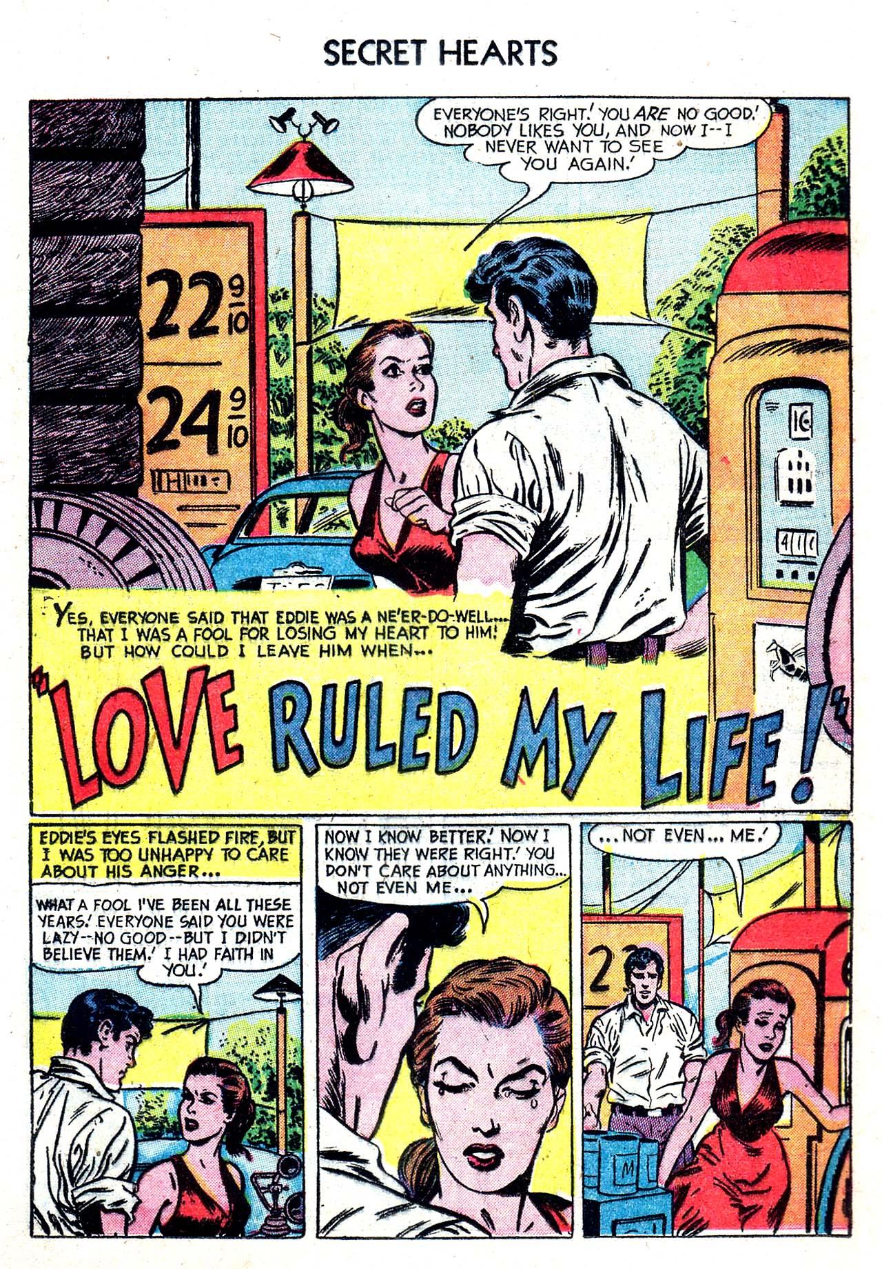 Read online Secret Hearts comic -  Issue #20 - 17