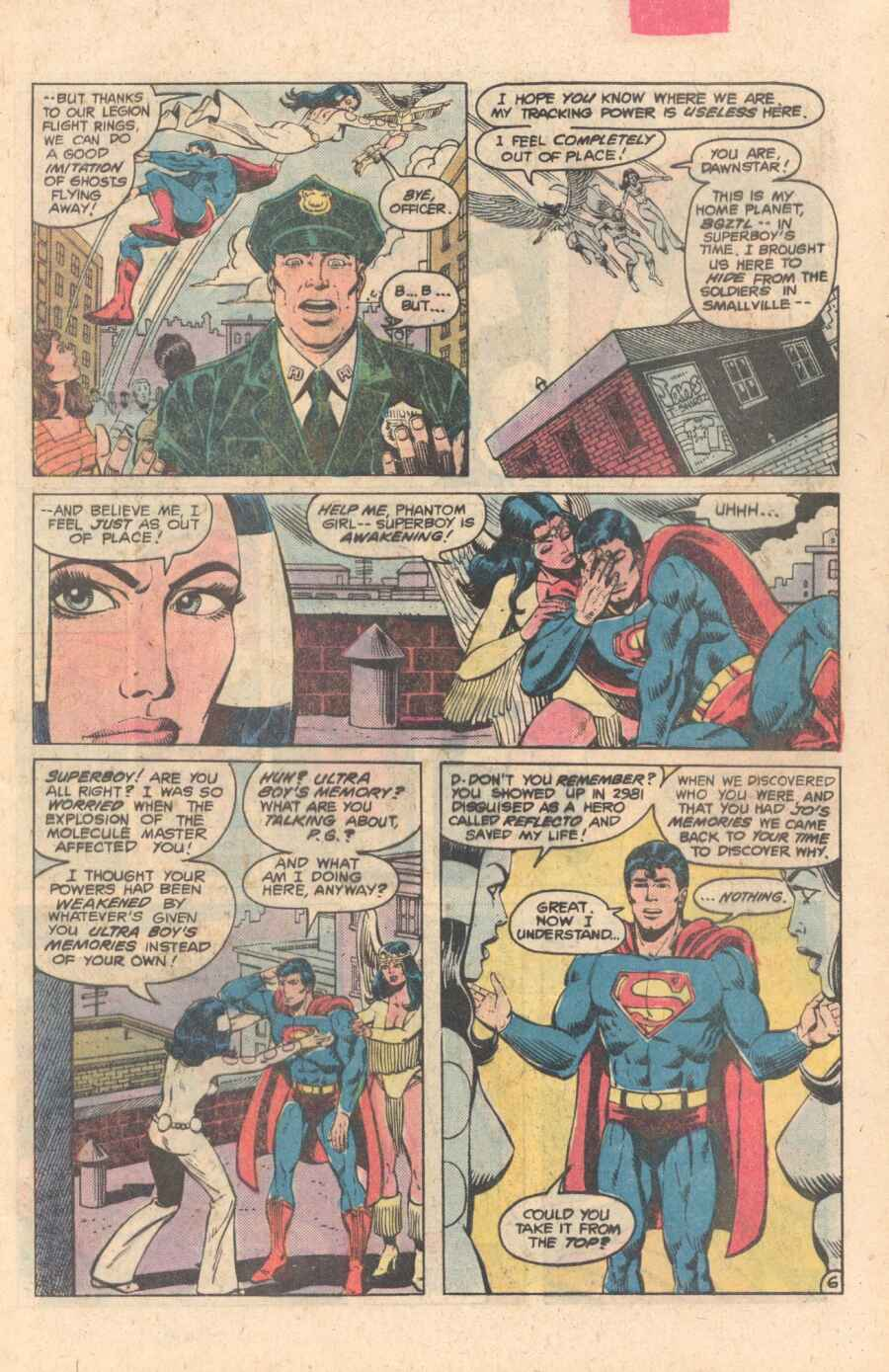 Legion of Super-Heroes (1980) 282 Page 6