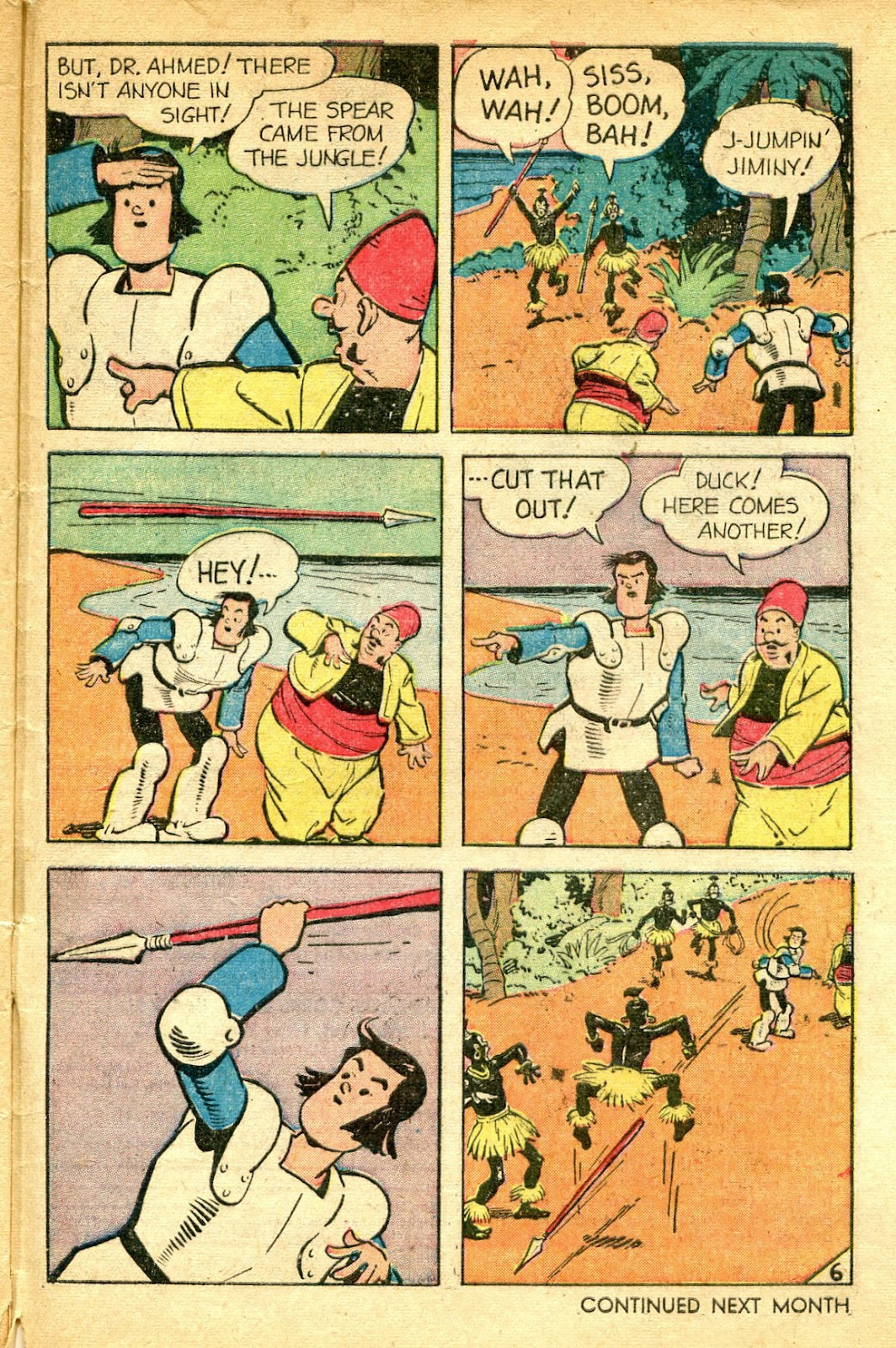 Read online Famous Funnies comic -  Issue #182 - 49