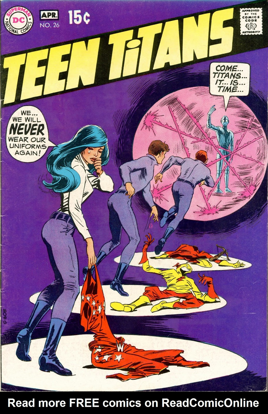 Teen Titans (1966) issue 26 - Page 1