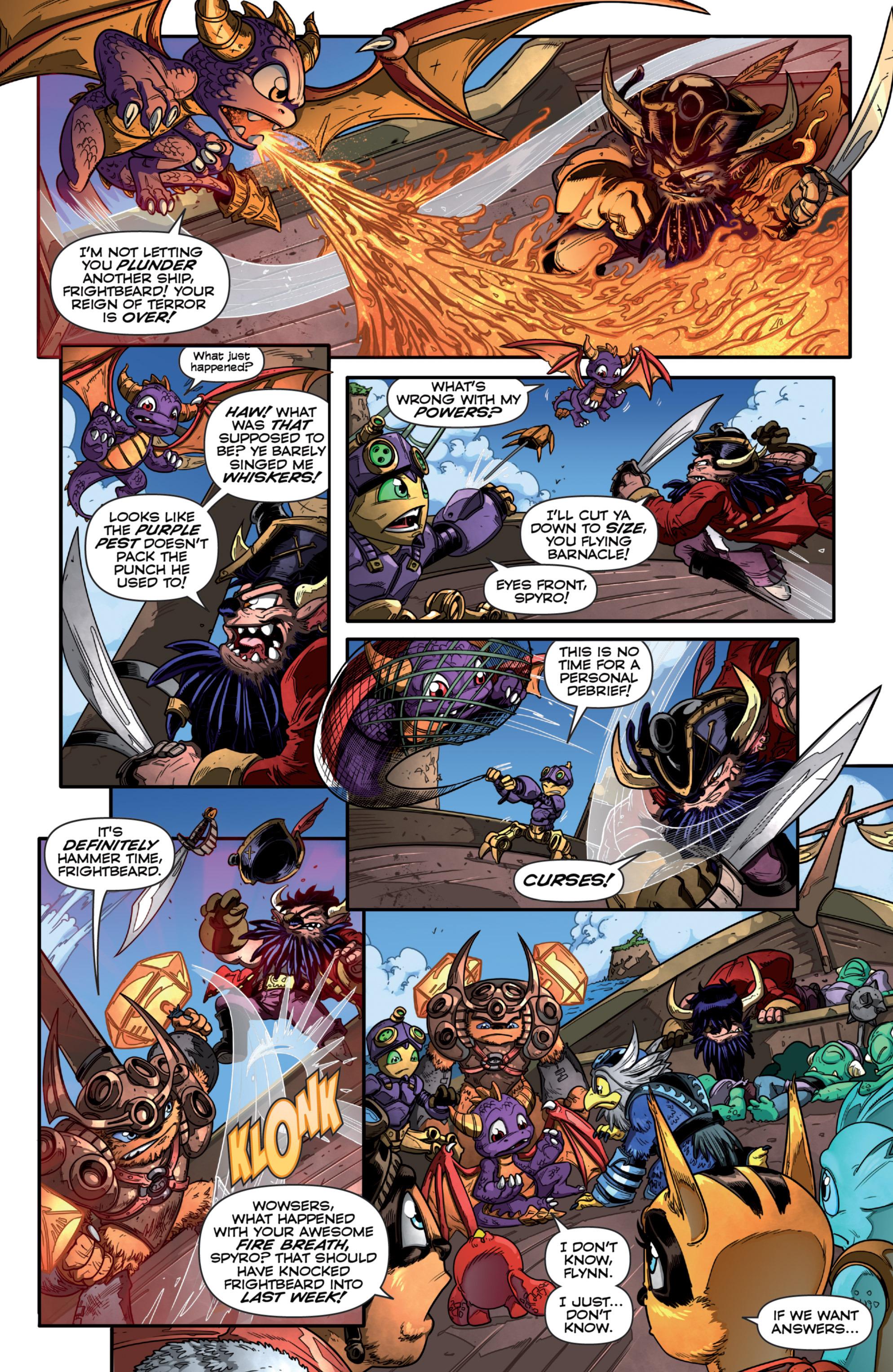 Read online Skylanders comic -  Issue #7 - 7