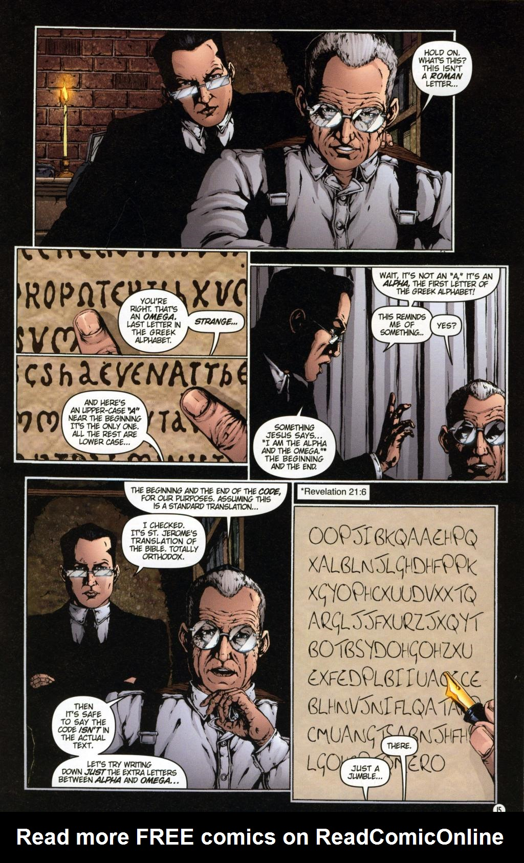 Read online Rex Mundi comic -  Issue #7 - 19