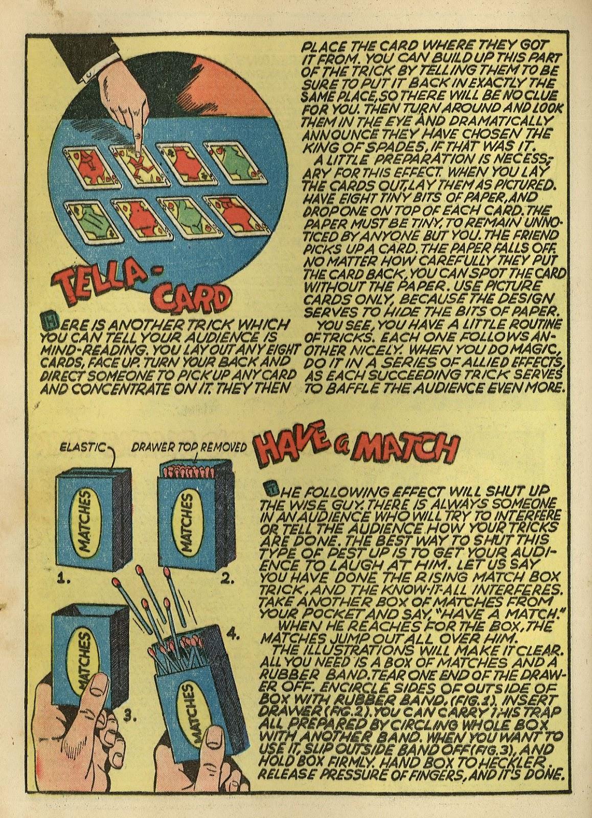 Read online Super-Magician Comics comic -  Issue #1 - 44