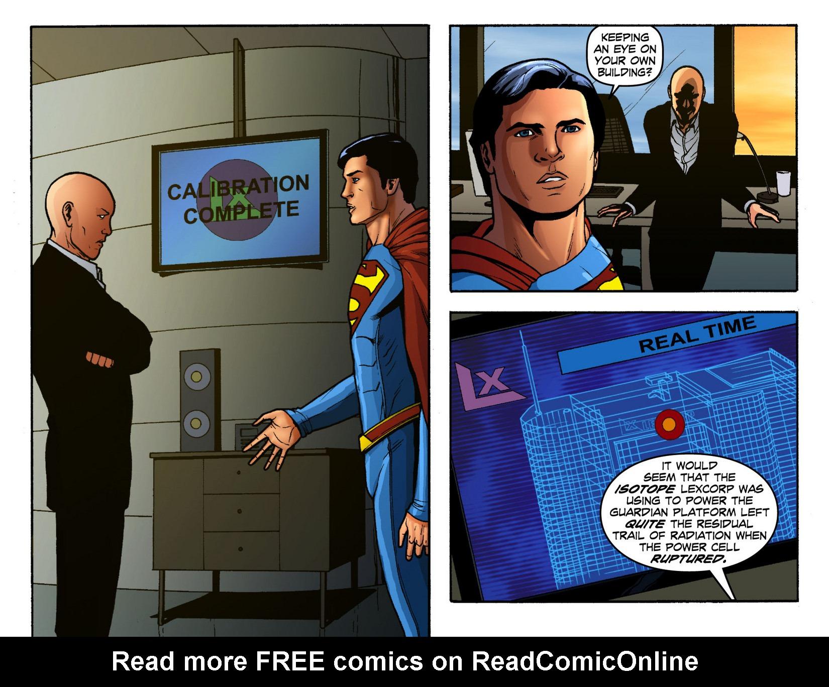 Read online Smallville: Season 11 comic -  Issue #12 - 6