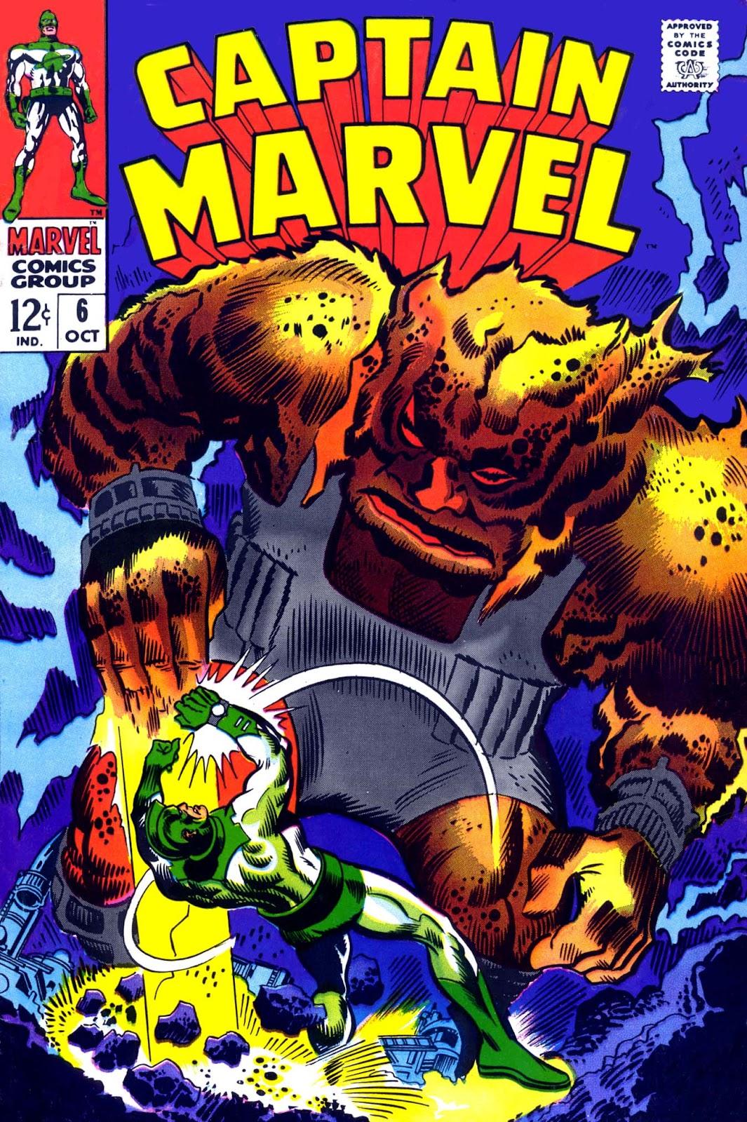 Captain Marvel (1968) Issue #6 #6 - English 1
