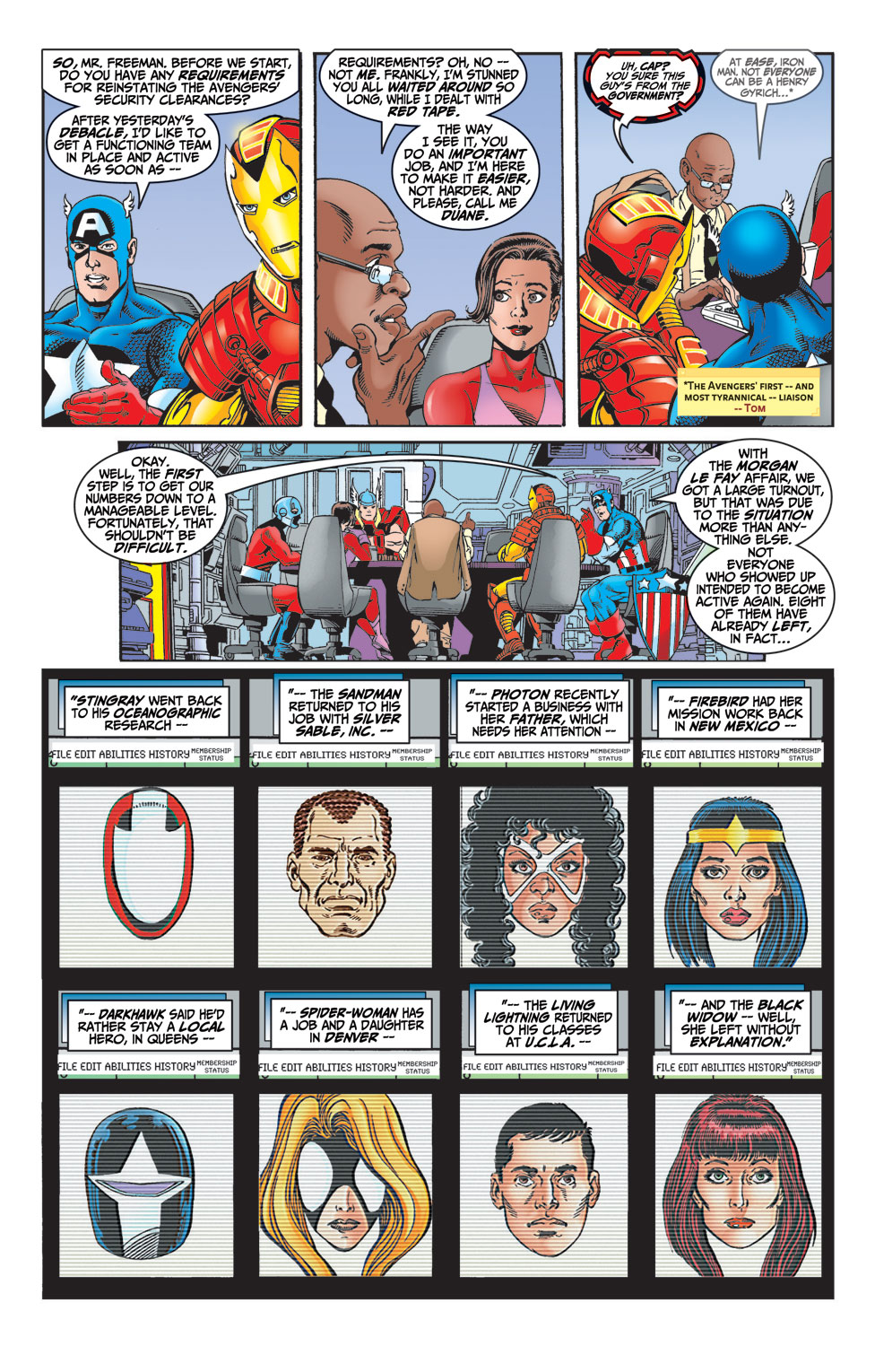 Read online Avengers (1998) comic -  Issue #4 - 7