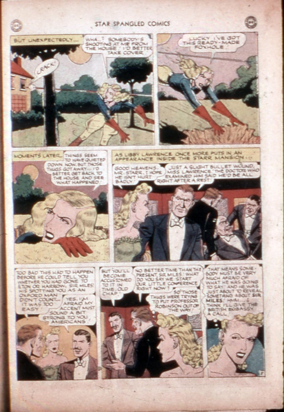 Star Spangled Comics (1941) issue 43 - Page 44