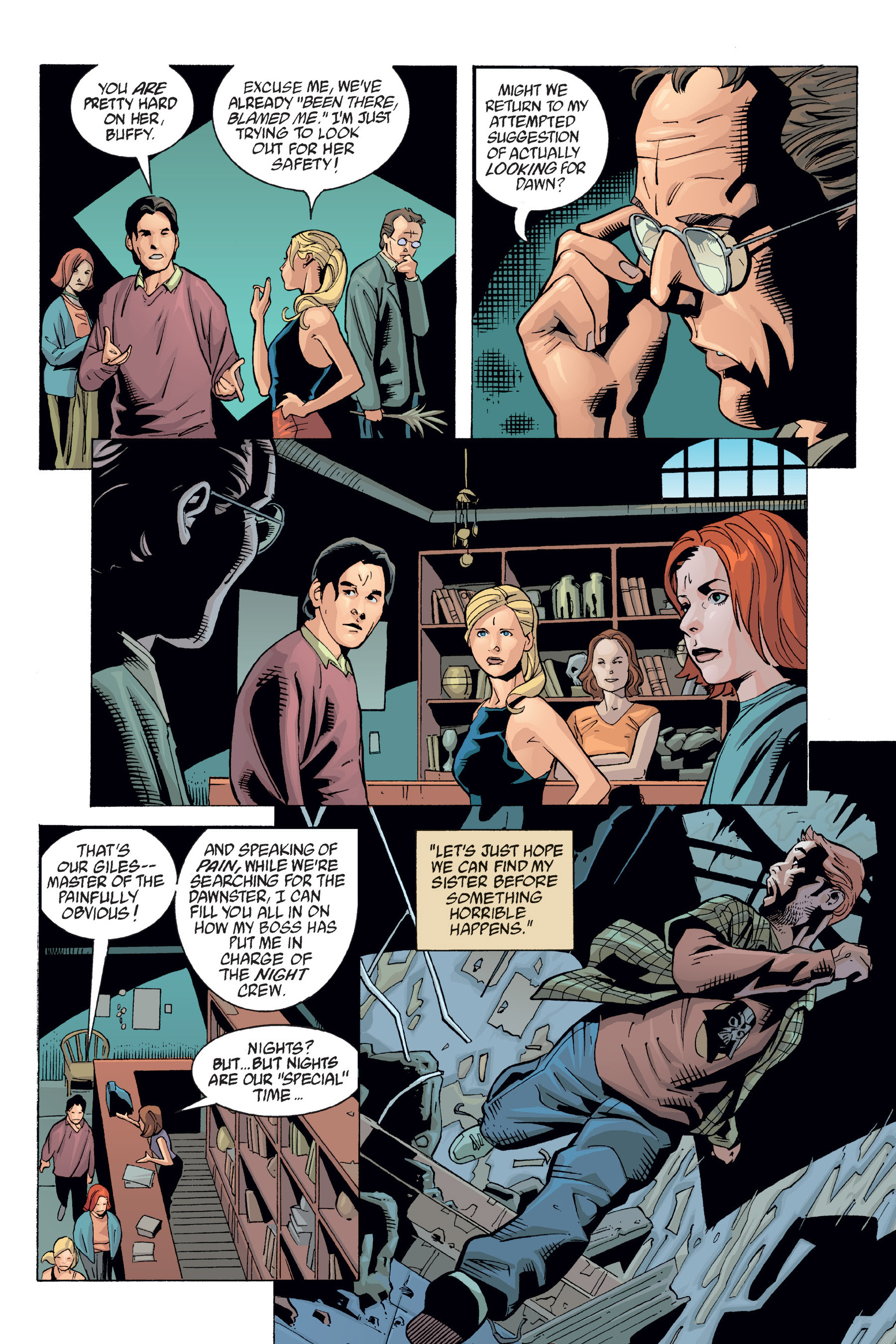 Read online Buffy the Vampire Slayer: Omnibus comic -  Issue # TPB 6 - 326