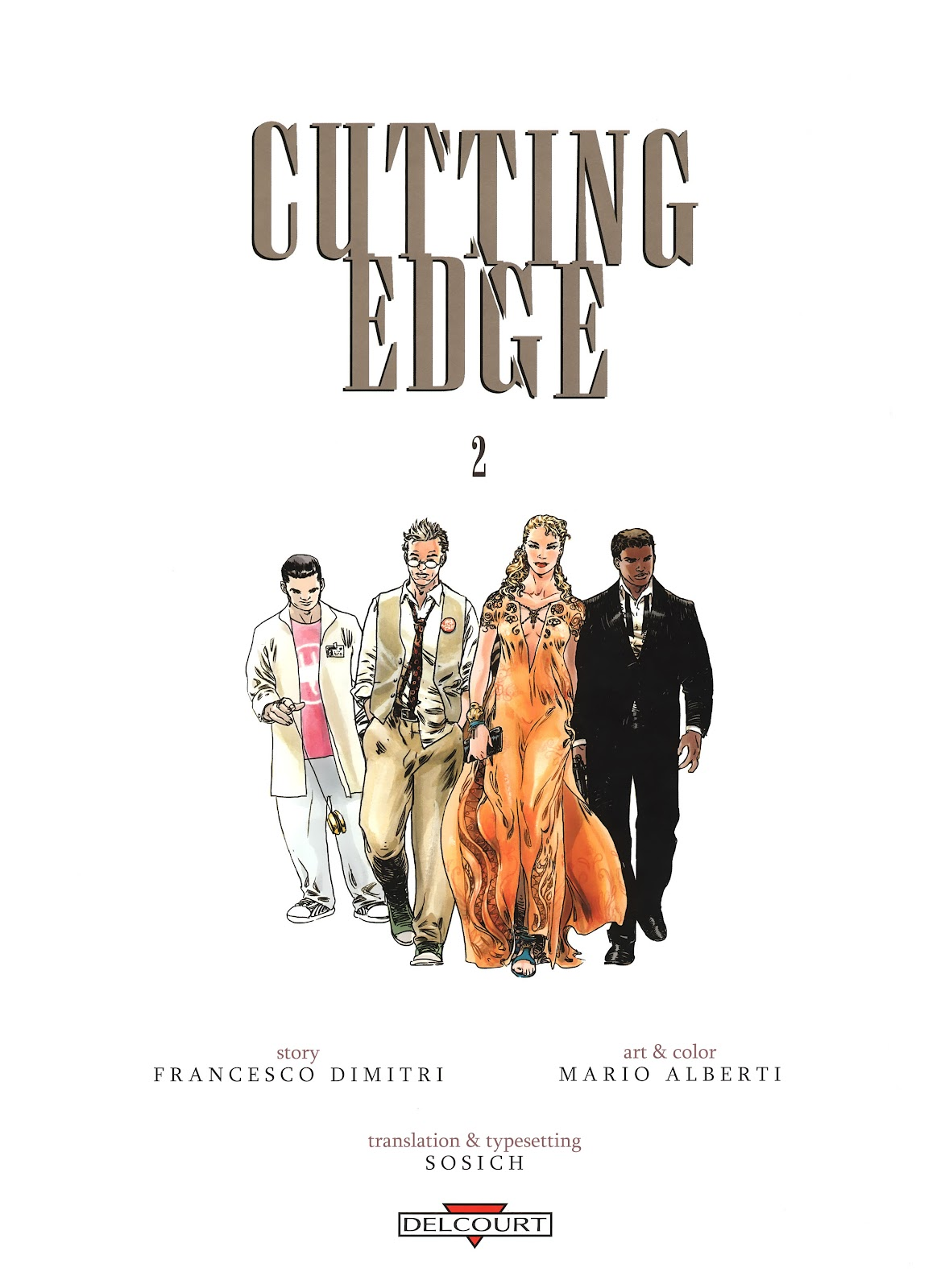 Read online Cutting Edge (2013) comic -  Issue #2 - 3