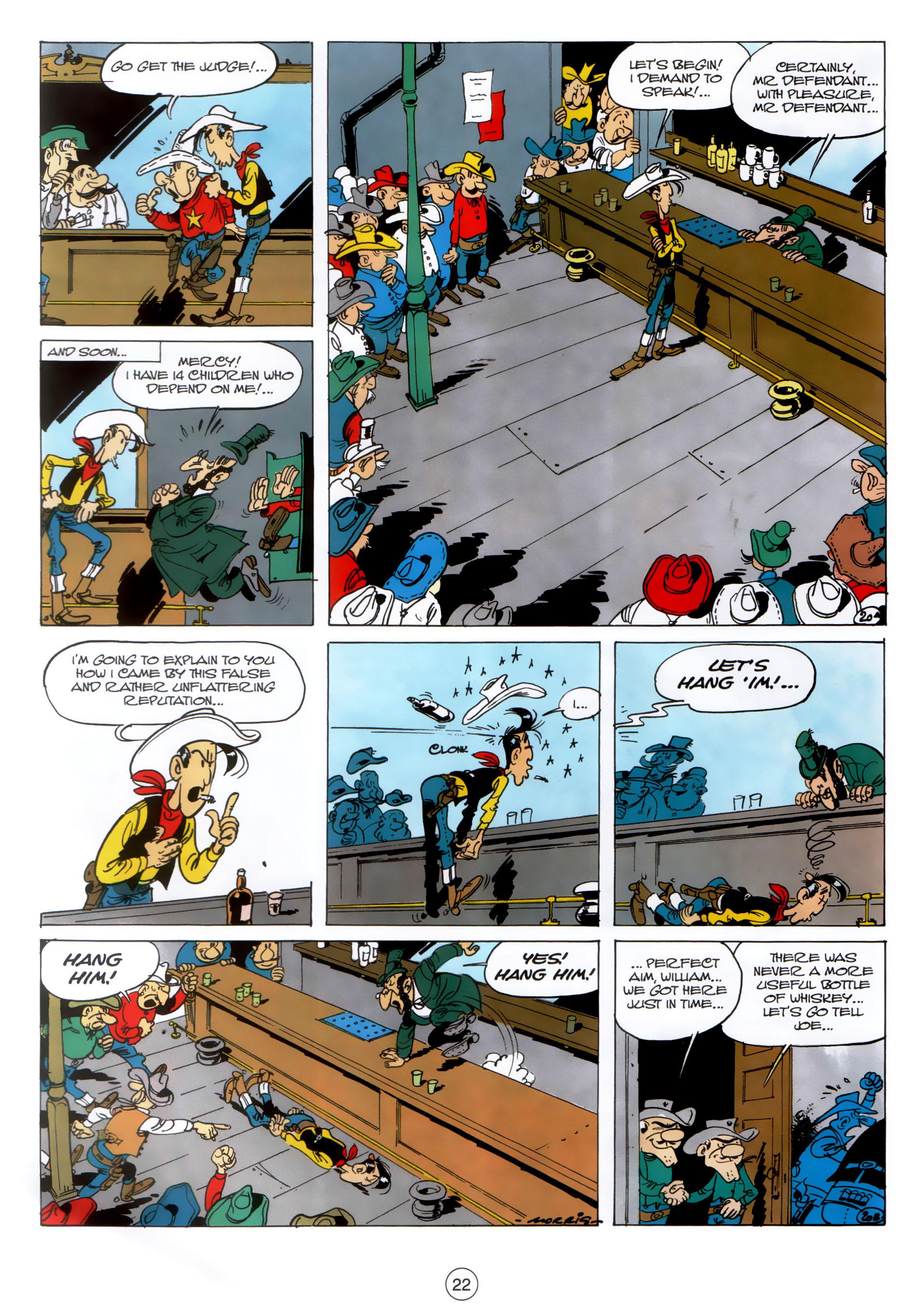 Read online A Lucky Luke Adventure comic -  Issue #30 - 21
