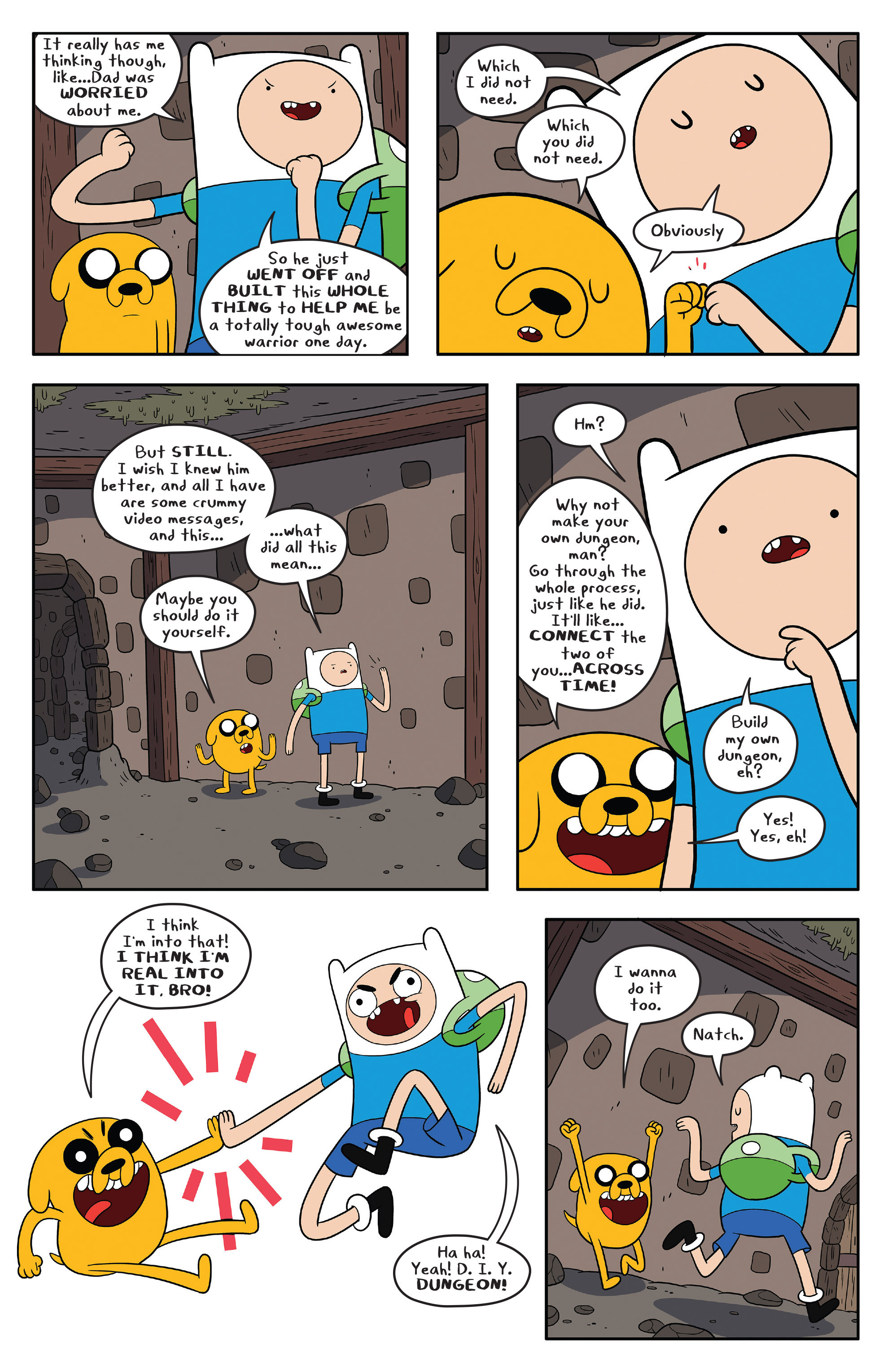 Read online Adventure Time comic -  Issue #58 - 7