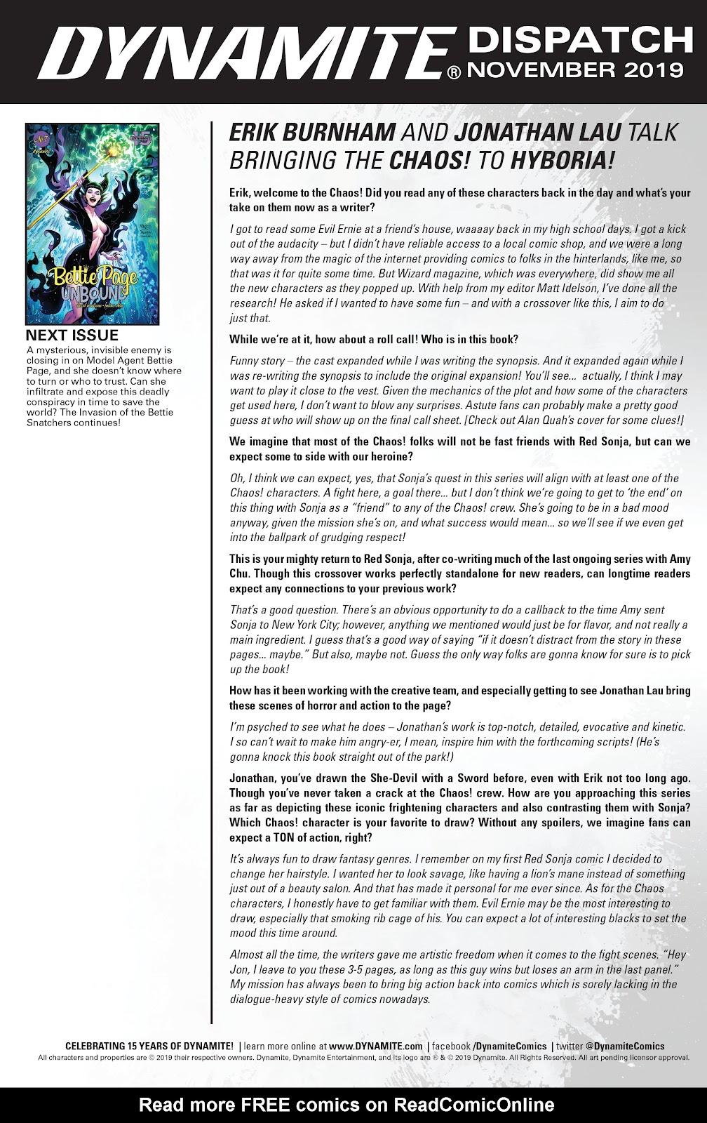 Read online Bettie Page: Unbound comic -  Issue #6 - 27