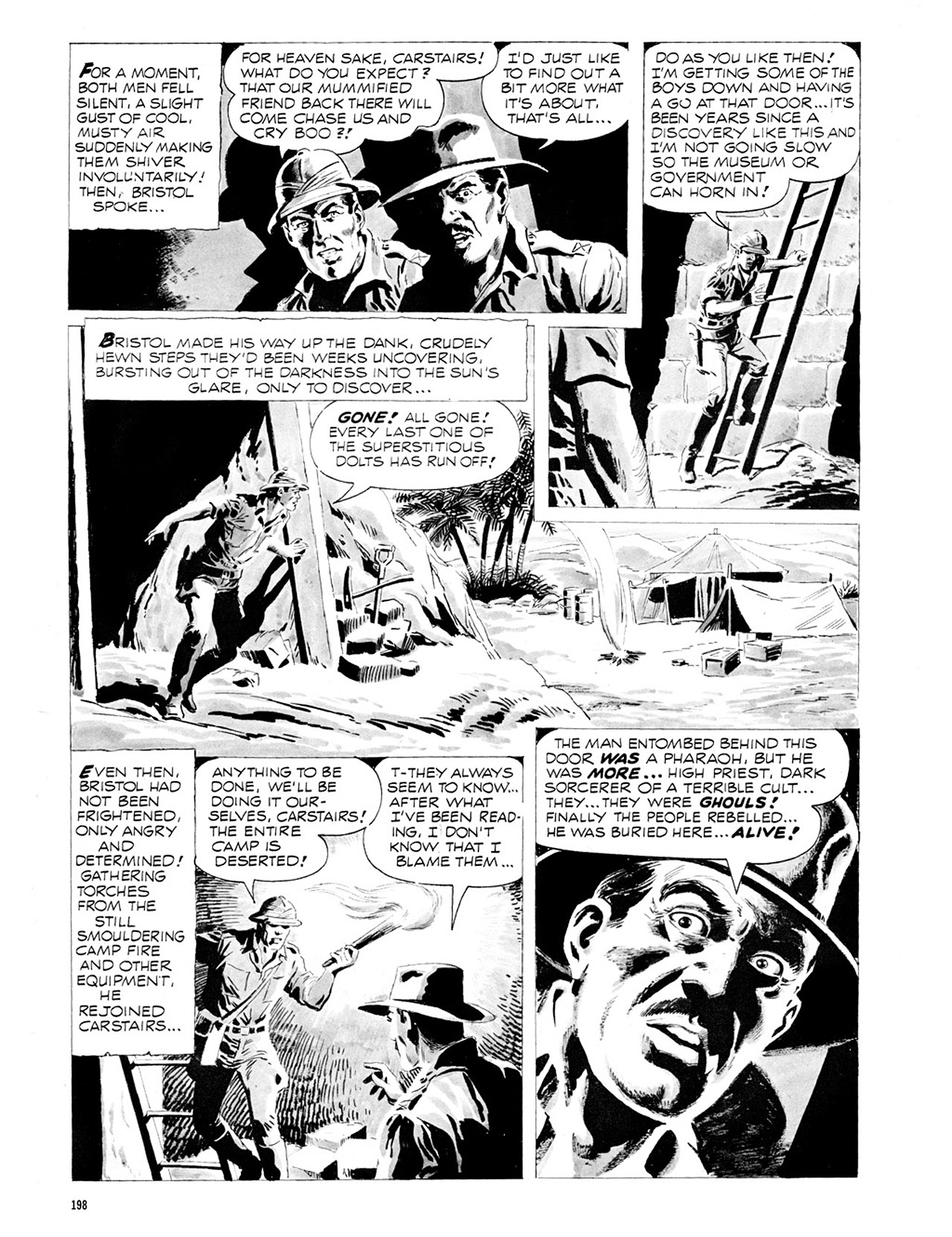 Read online Eerie Archives comic -  Issue # TPB 2 - 199